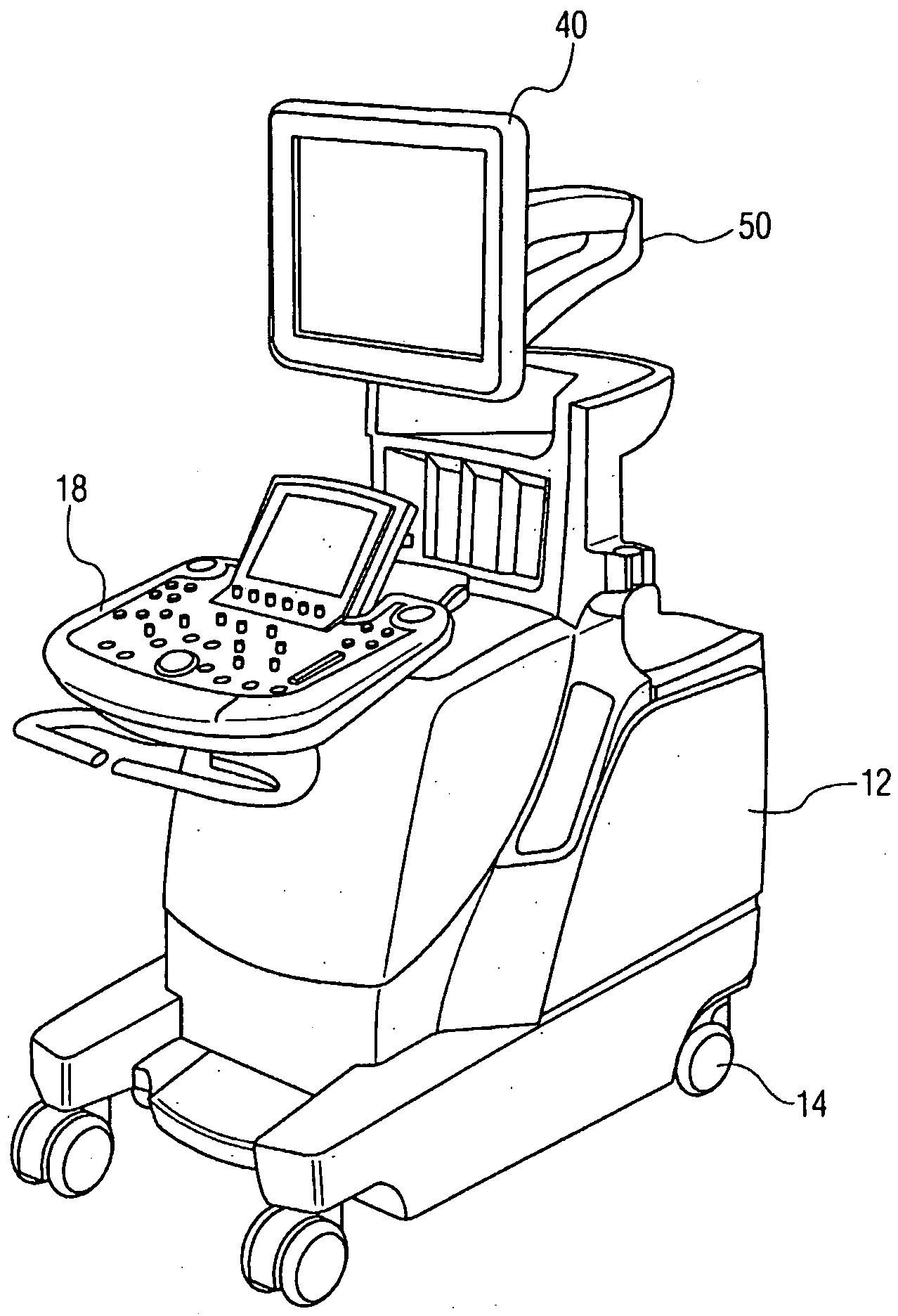 Articulated Arm Ultrasound : Patent us  diagnostic ultrasound system with