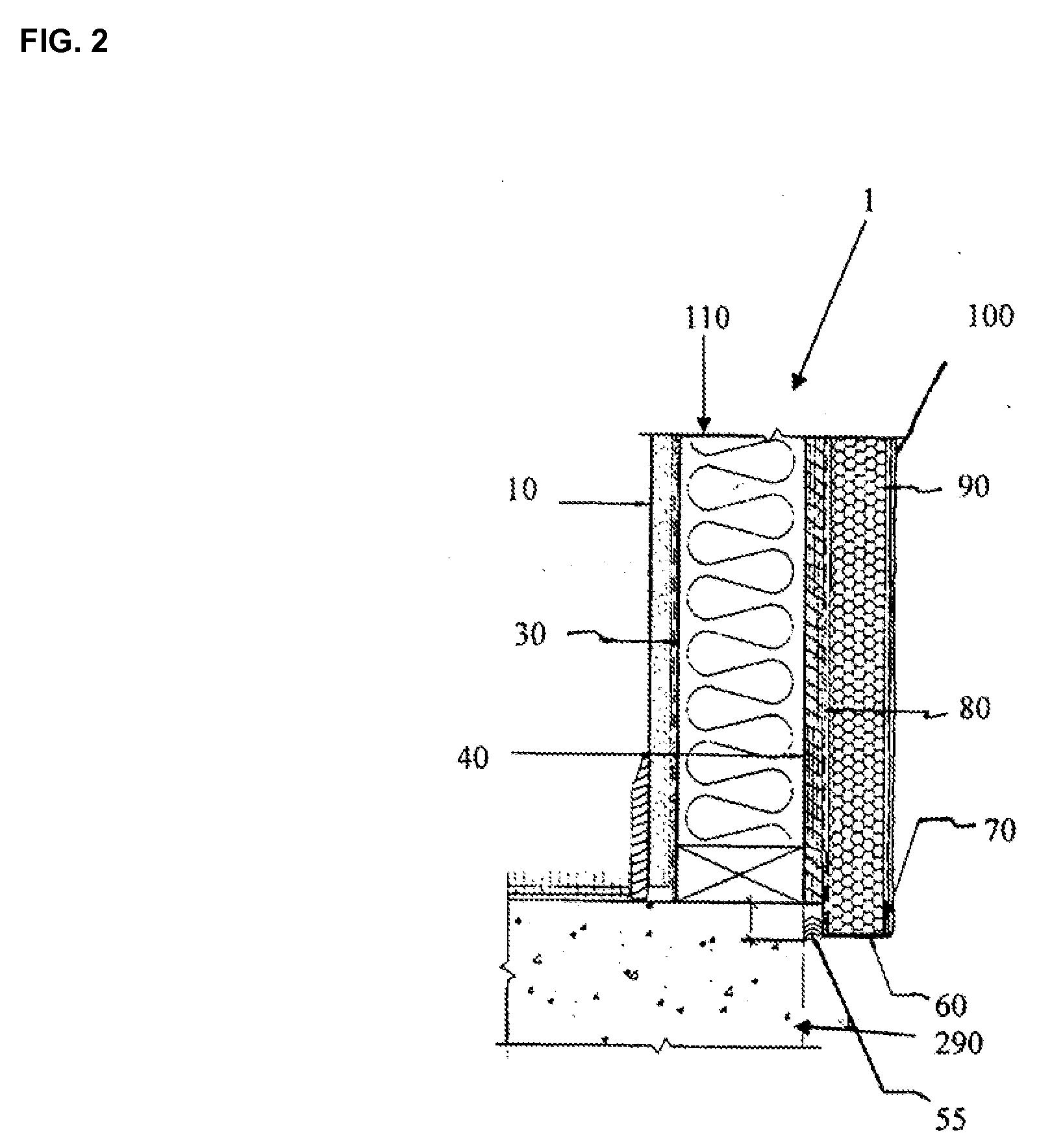 Patent Us20080245007 Gypsum Wood Fiber Structural