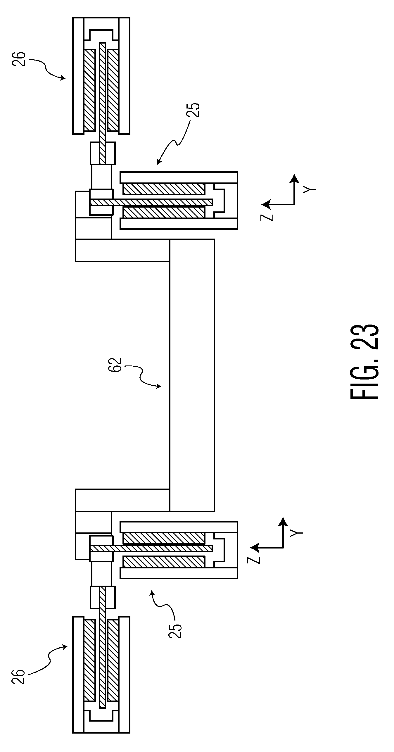 Patent Us20080246348 Ironless Magnetic Linear Motors Having Levitating And Transversal Force