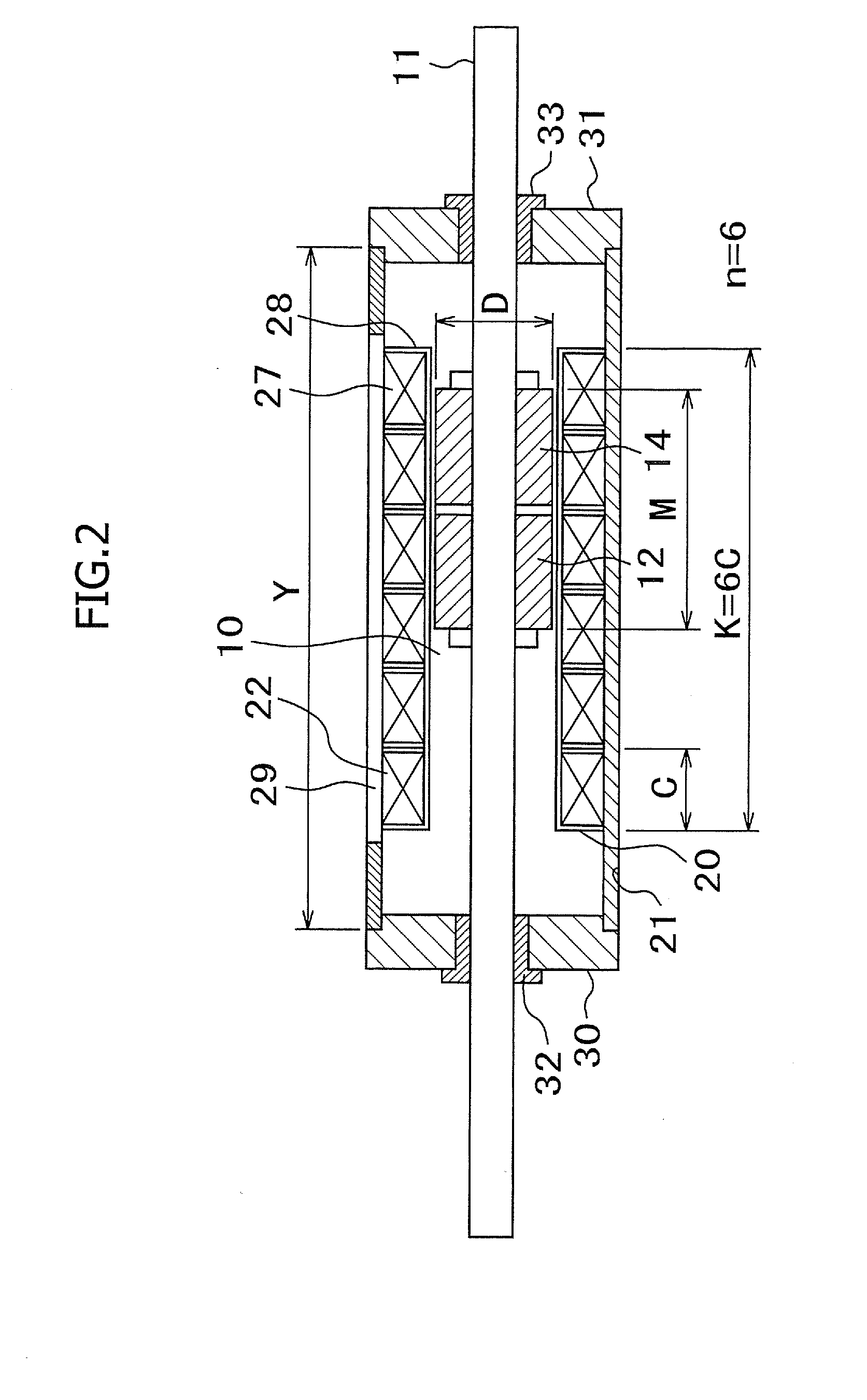 Patent us20080246352 cylinder type linear motor and for Types of linear motors