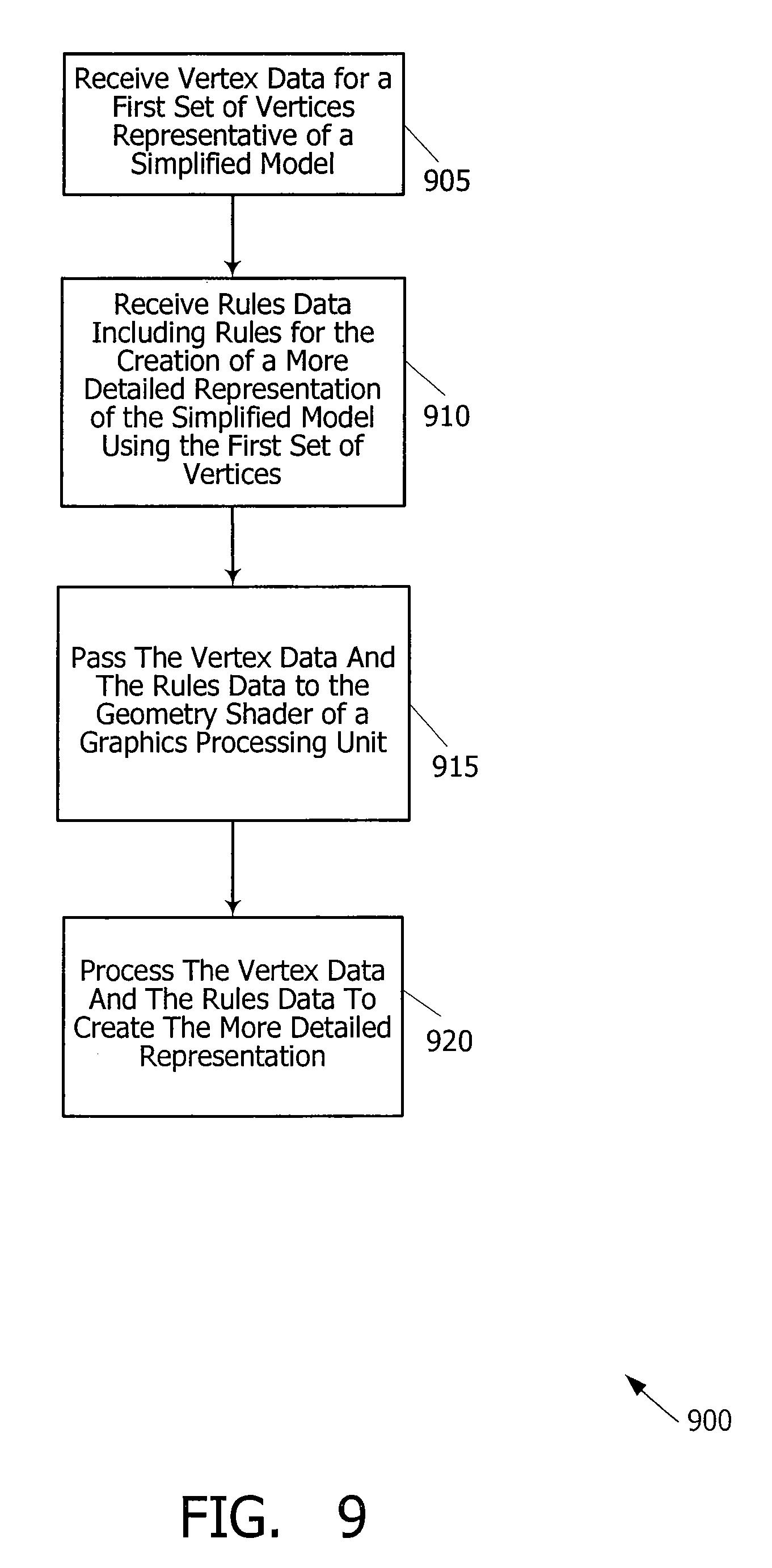 Brevet US20080266287 - Decompression of vertex data using a