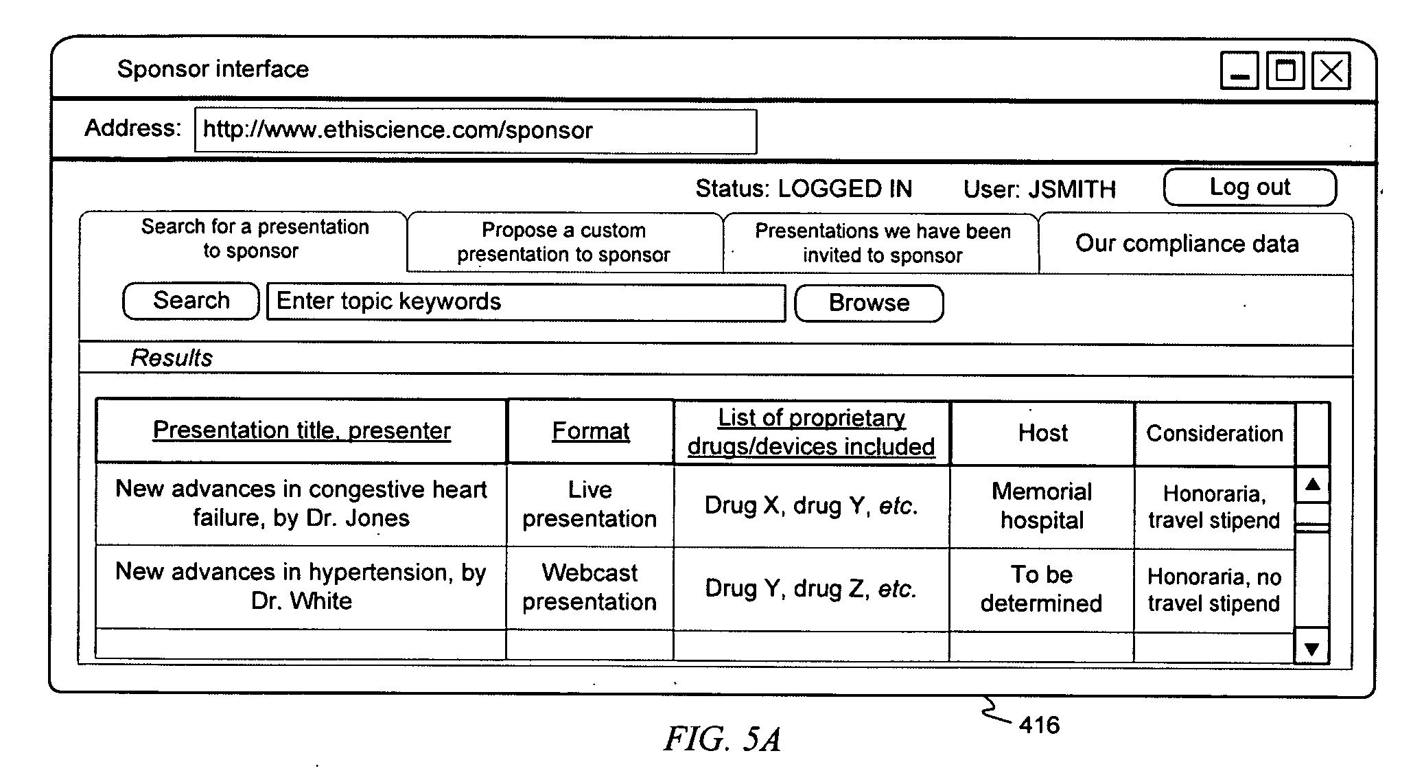 Patent US20080270168 - System and methods for sponsored