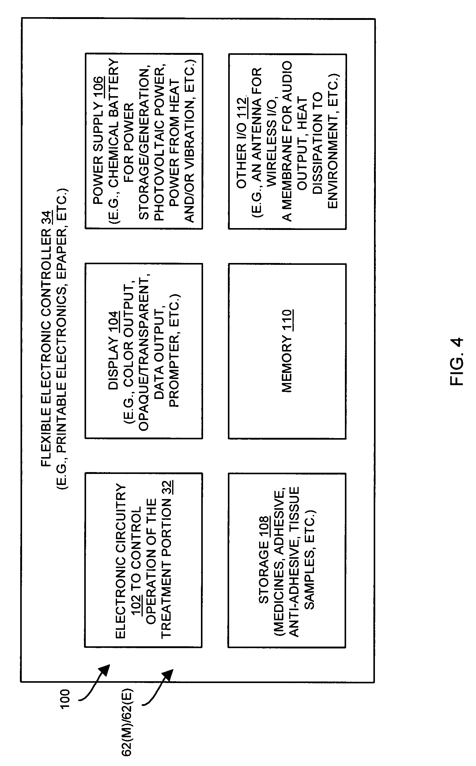 Patent Us20080281244 Electronic Bandage With Flexible Circuits Explained Drawing