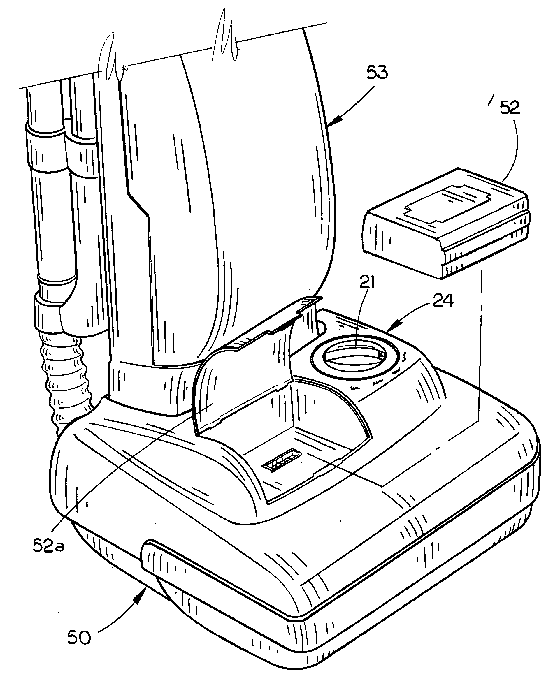 patent us20080284363 hybrid electric cleaning device patents 12V Gear Motor patent drawing
