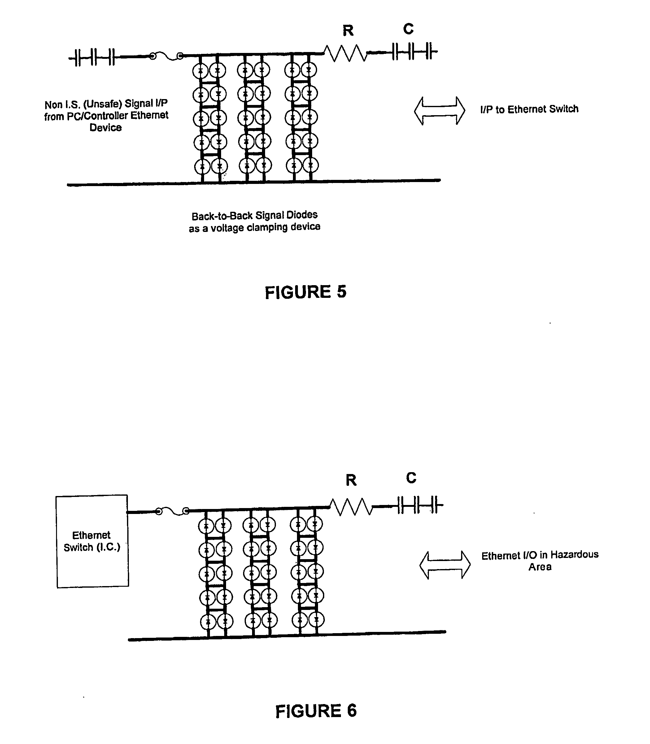 Intrinsically Safe Barrier Wiring Ether Schematic Diagrams Patent Us20080285186 Ethernet Based