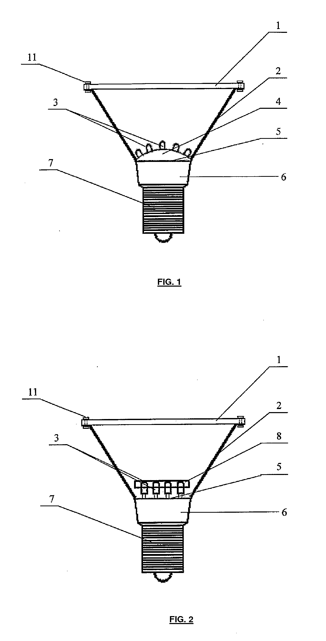 patent us20080285269 - led lamp
