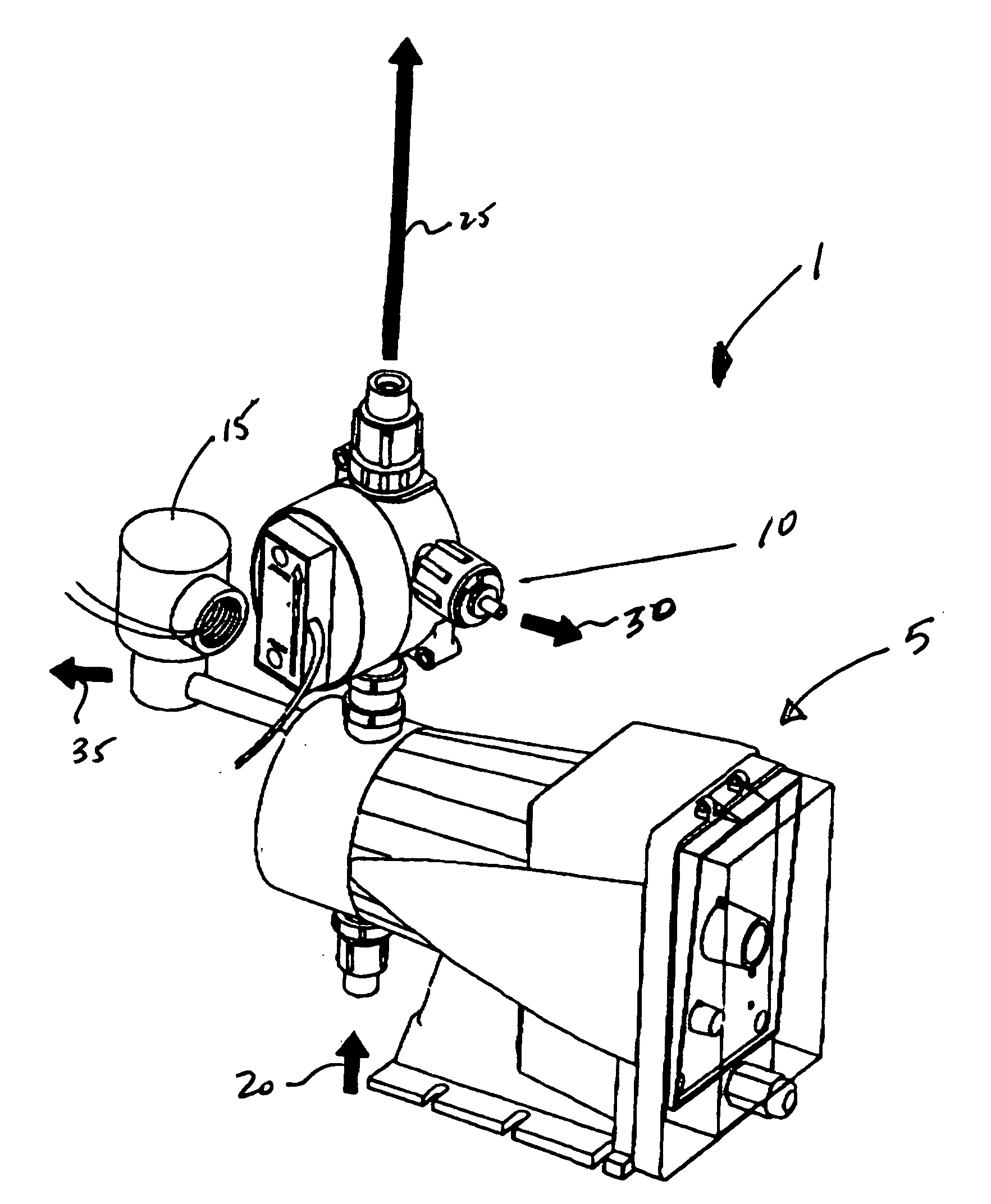 patent us20090016901 - self-priming electronic metering pump and priming methodology