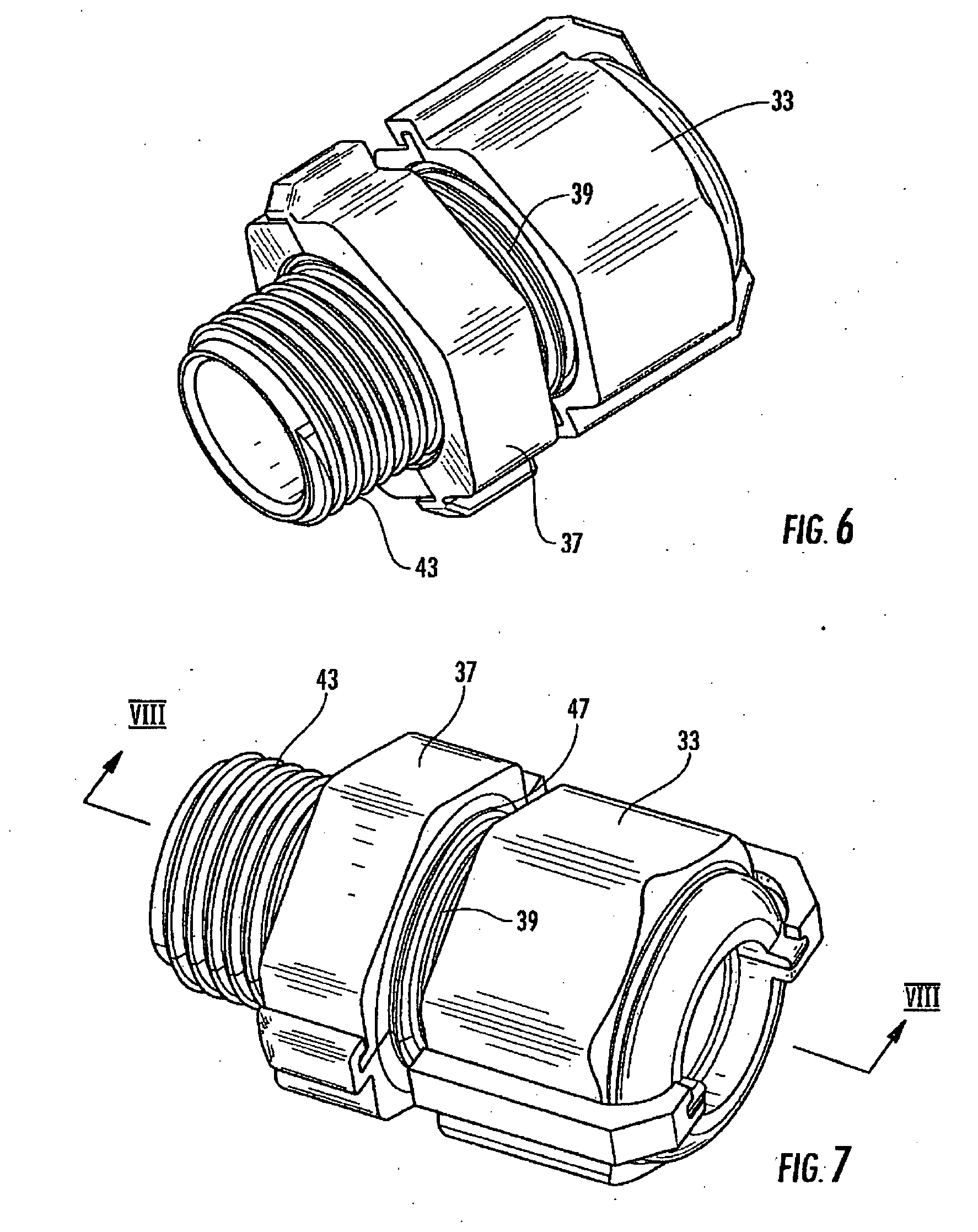 patent us20090025977 - removable cable gland