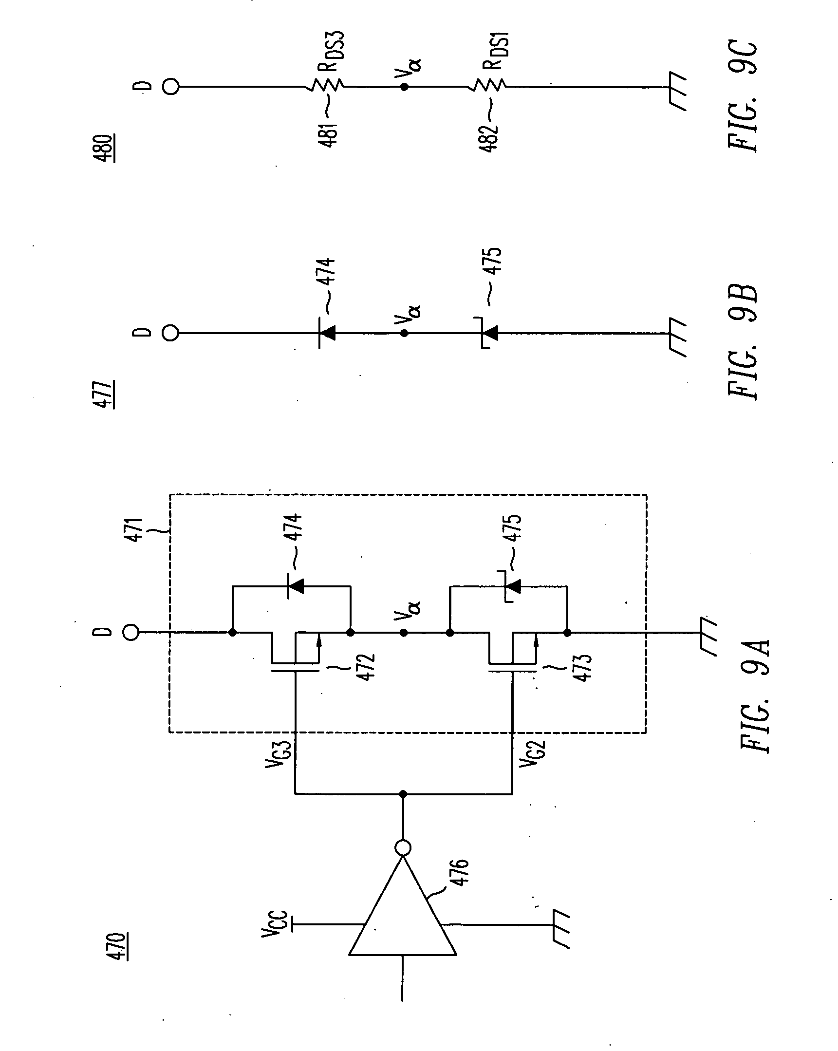 Patent Us20090039869 Cascode Current Sensor For Discrete Power Temperaturecompensated Diode Input Detector Circuit 555 Drawing