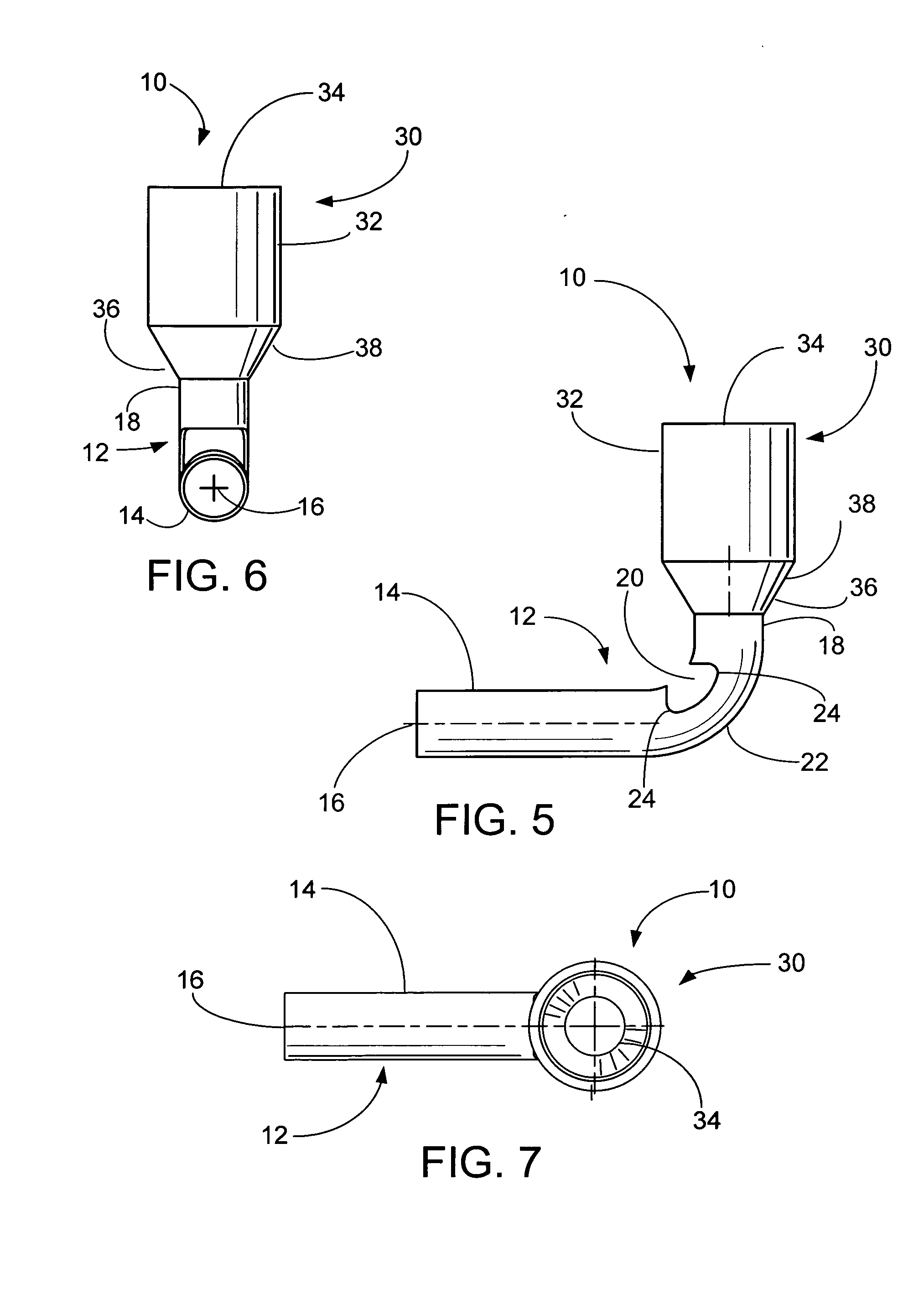 Patent Us20090075528 90 Degree Ferrule And Pin Terminals