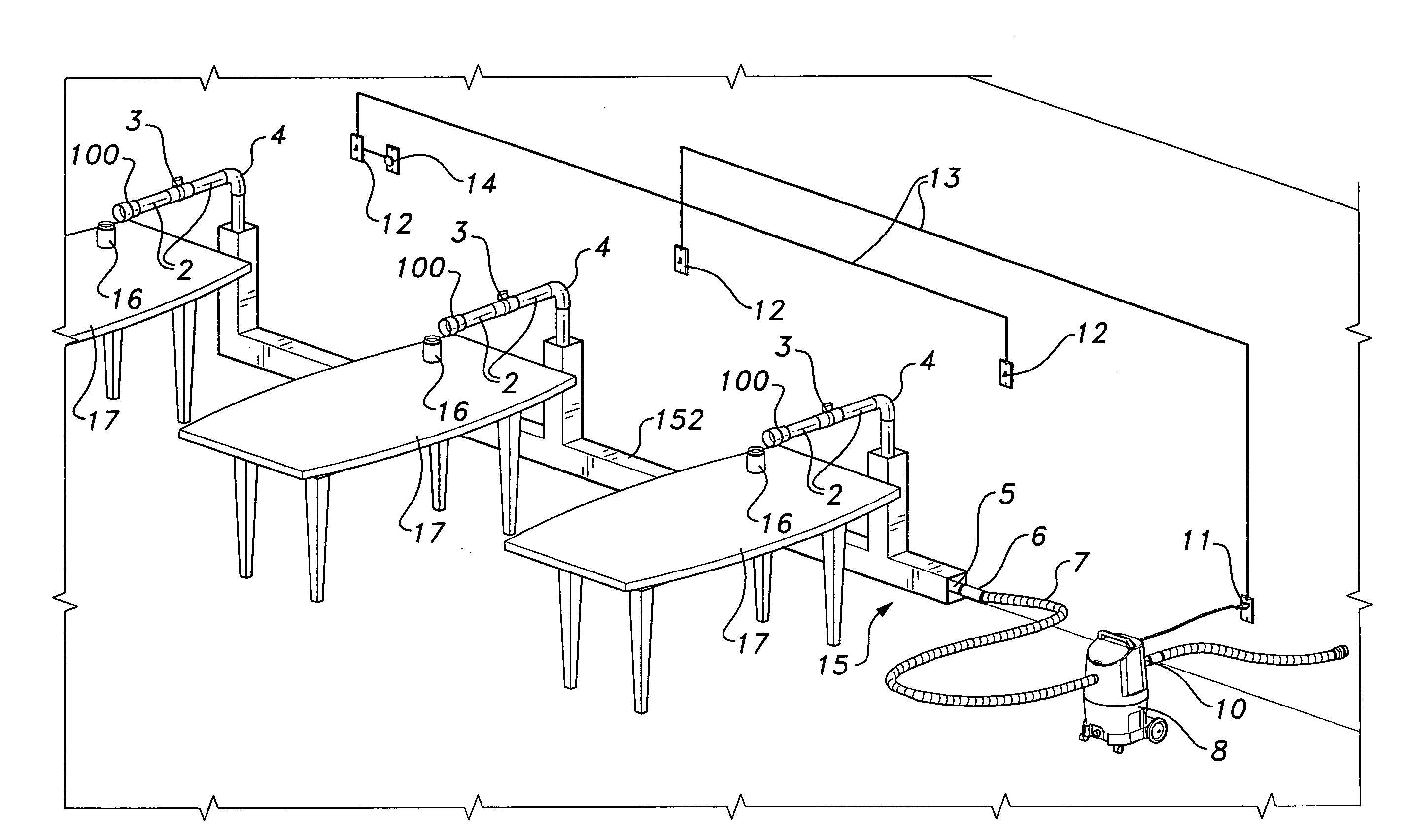 patent us20090081936 - salon ventilation system