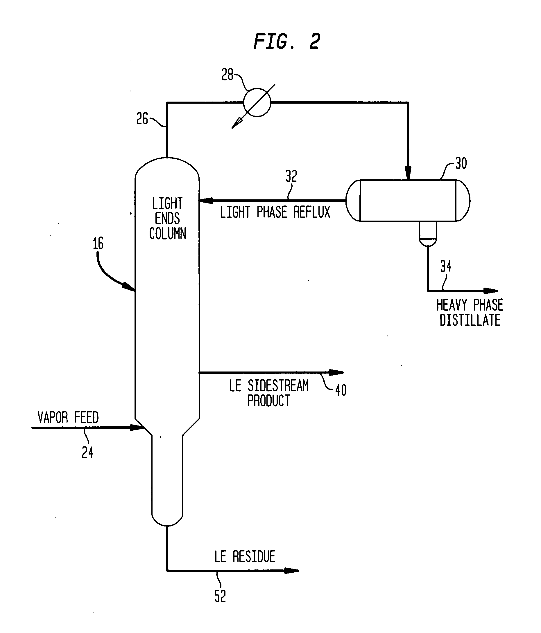Patent Us20090088587 Method And Apparatus For Making Acetic Acid Reflux Still Diagram Drawing