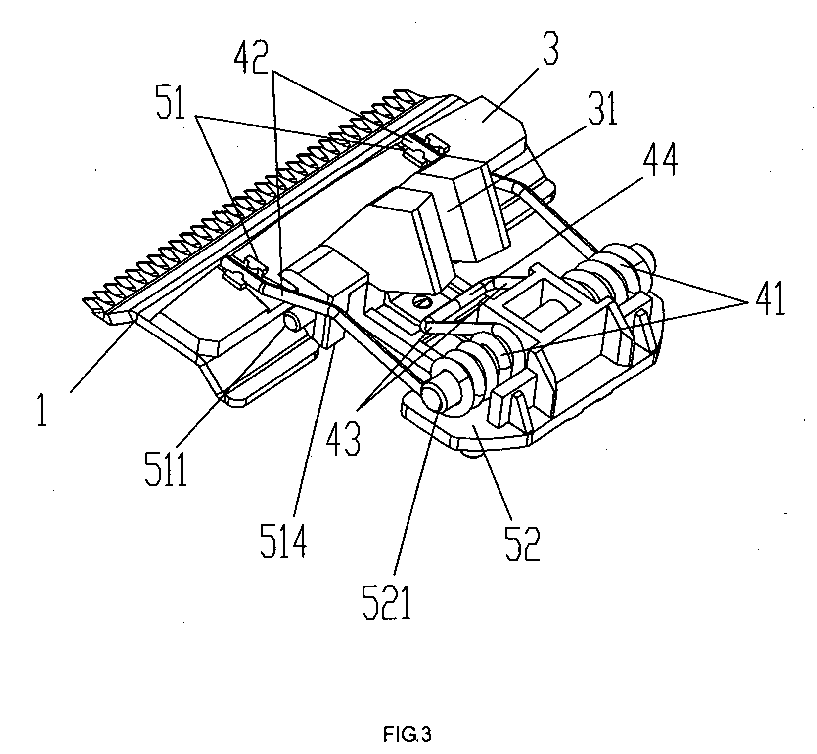 Conair Hair Clippers Hc408r User Guide Manualsonline Patent Drawing Us20090144988 Blade Driving Embly For An Adjule