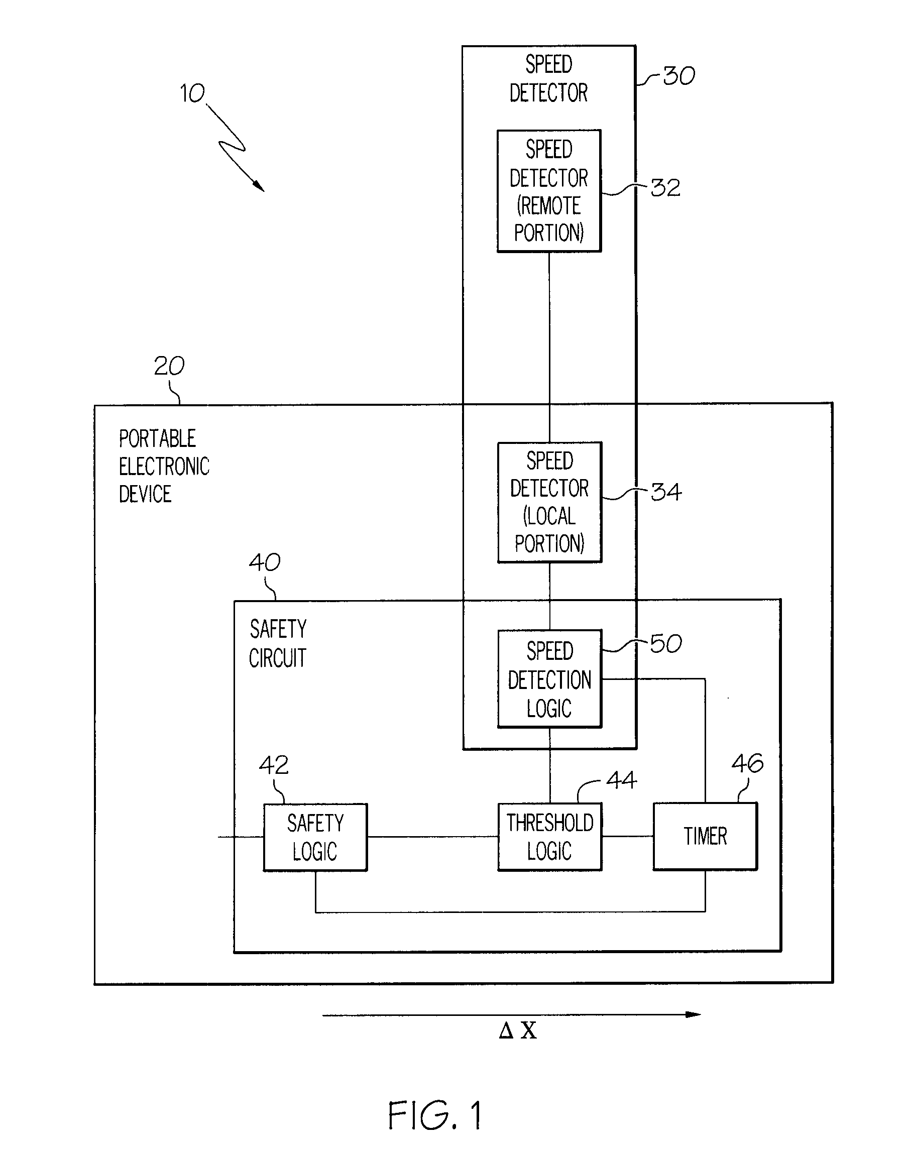 Patent Us20090163243 Safety Features For Portable Electonic Device Circuit Gpsreceiver Communicationcircuit Diagram Drawing