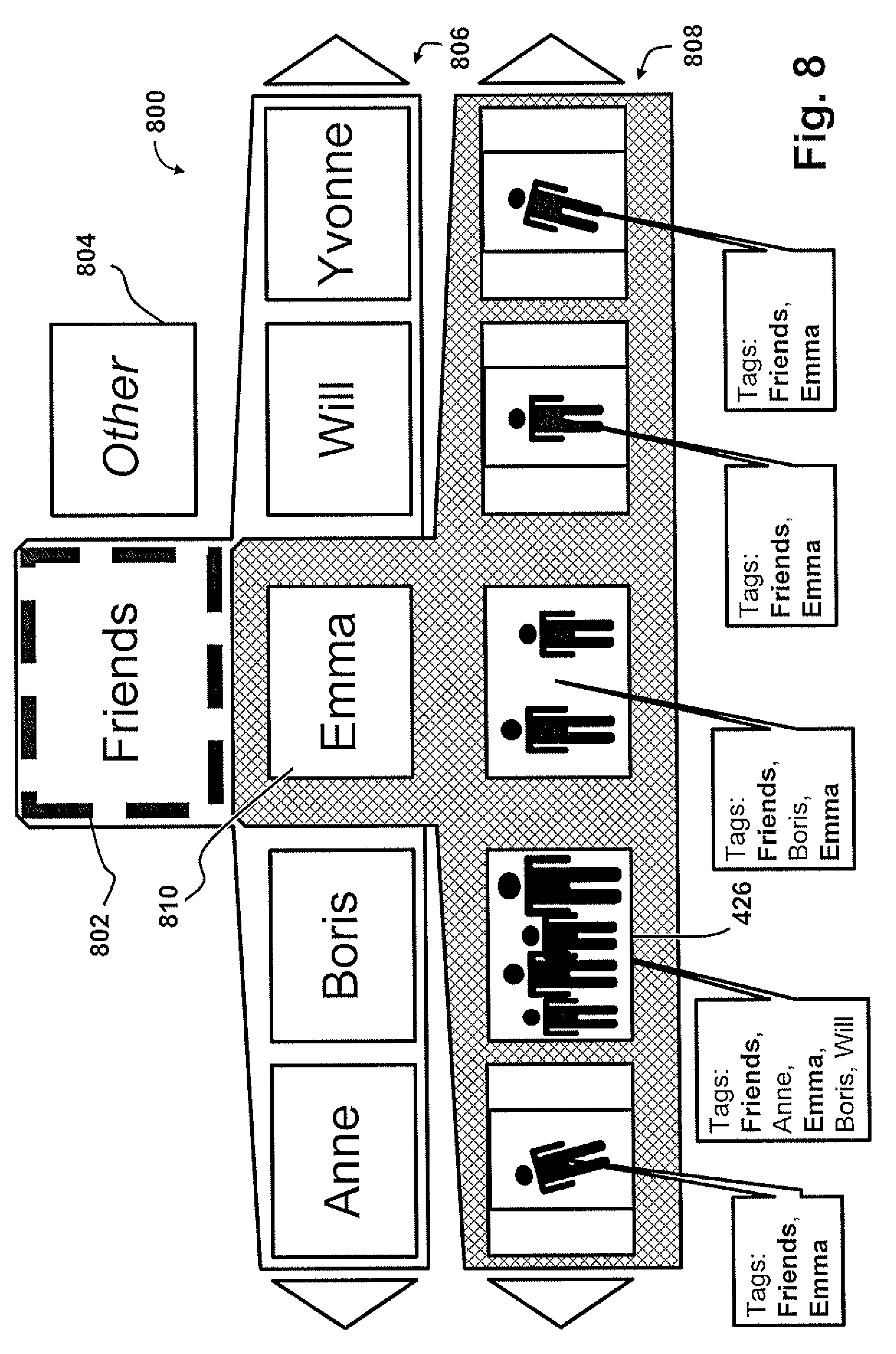 Patent Us20090164946 Hierarchical Tag Based Browsing Of Media 300c Fuse Box Manual Drawing