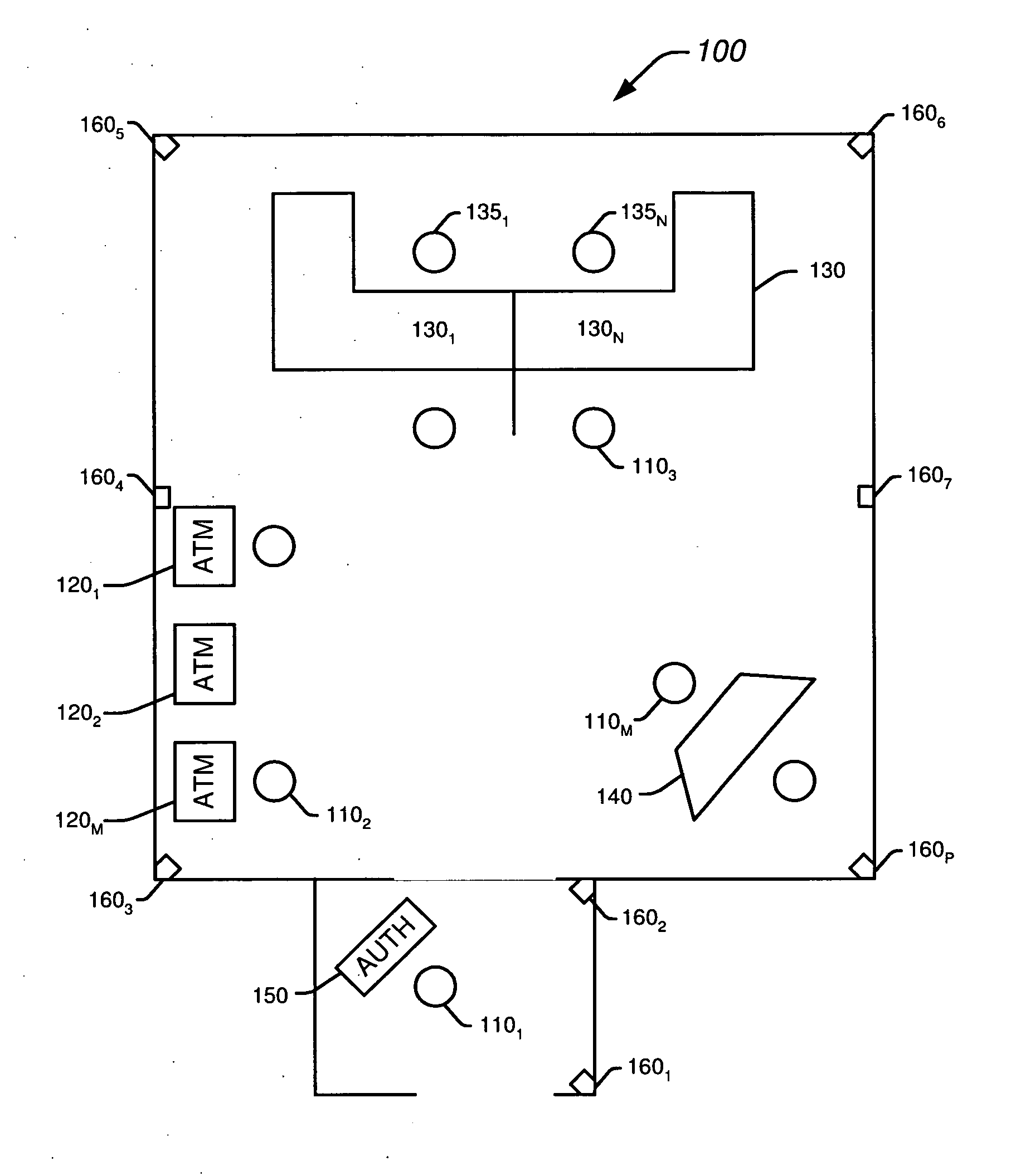 us20090165092 sustained authentication of a Bank Teller Resume Terminology patent drawing