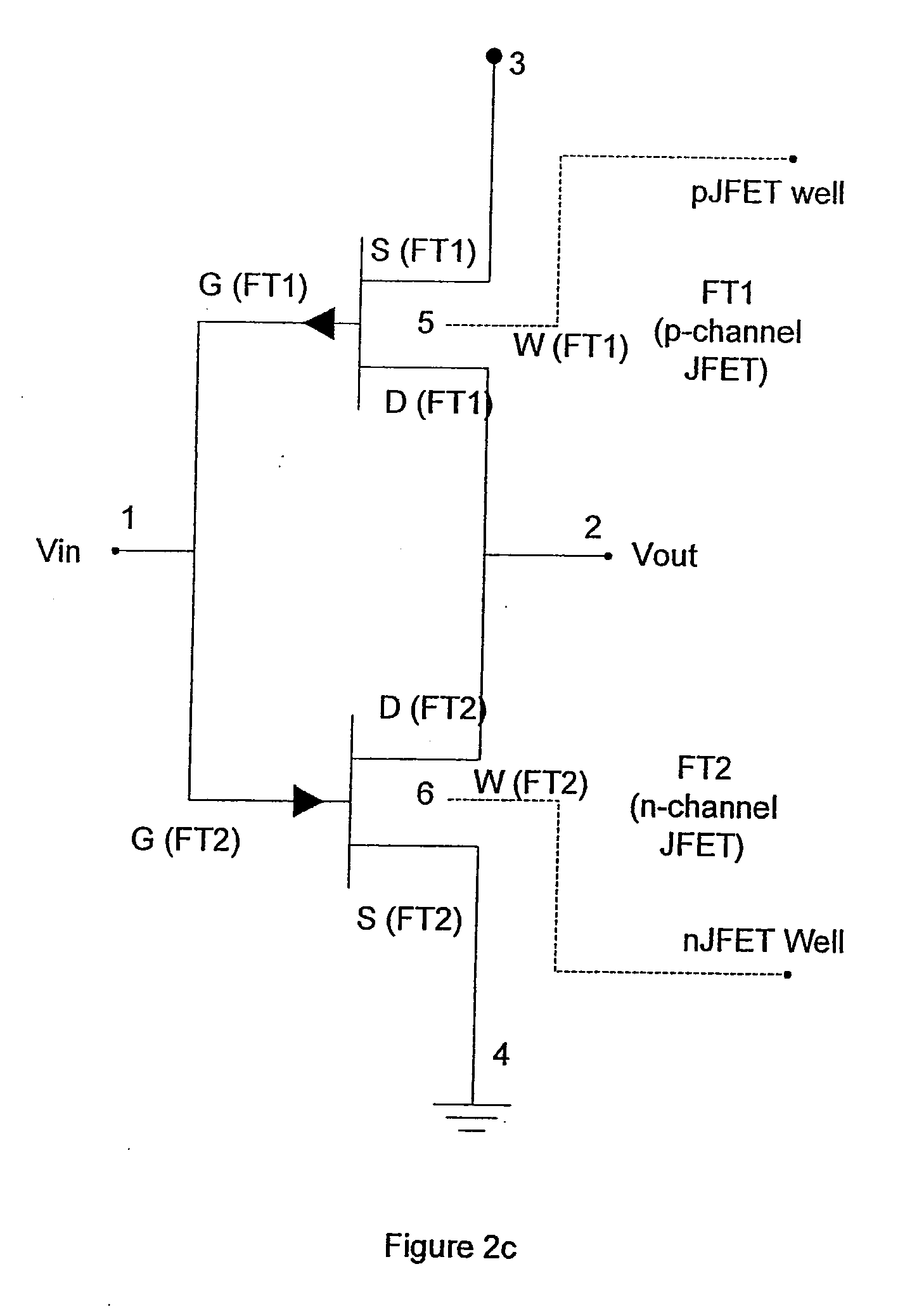Patent Us20090184734 Method Of Producing And Operating A Low Power The Level Voltage Logic Changer By Jfet Drawing