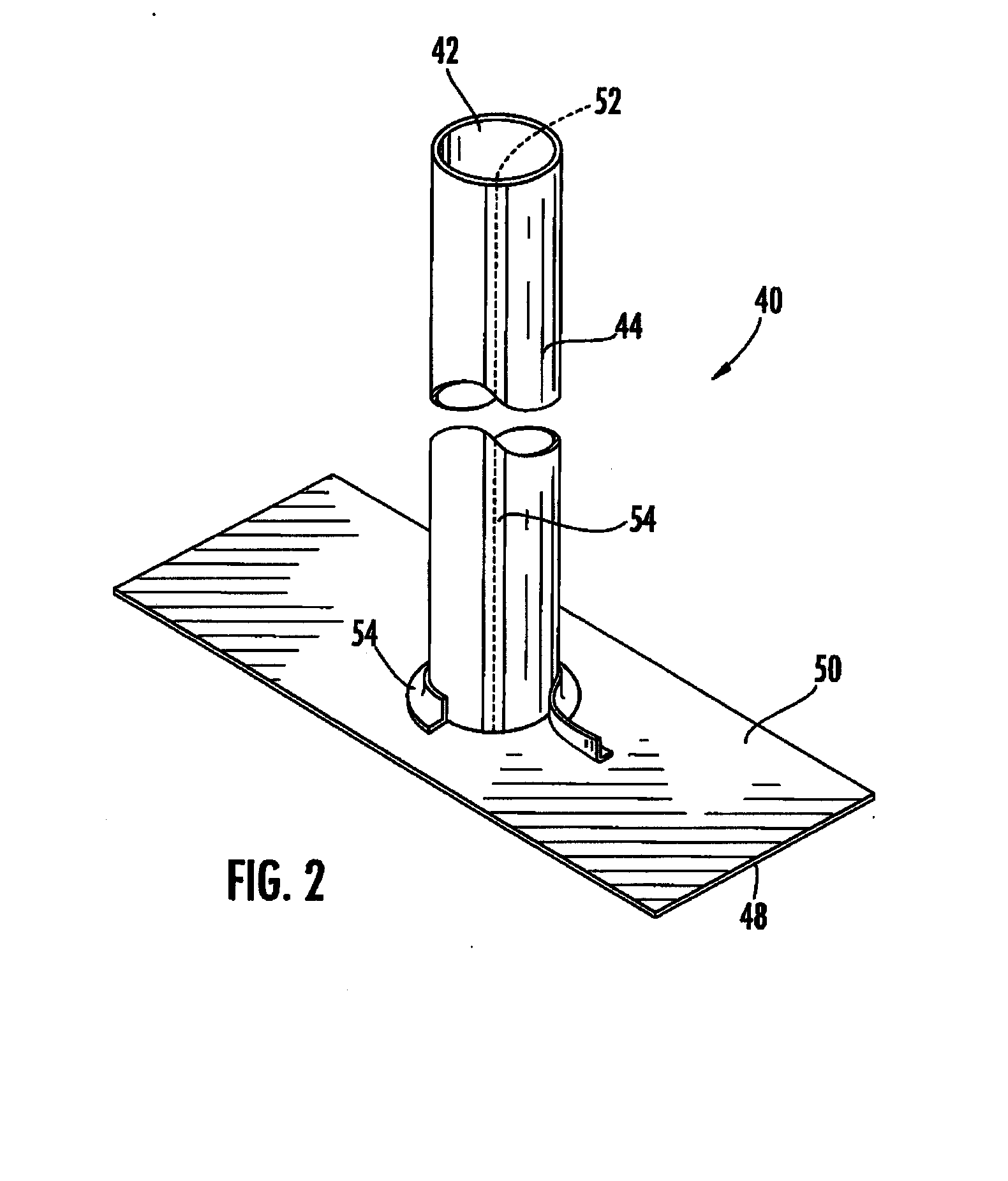 Flexible Pipe For Bladder Lining : Patent us  bladder and method for cured in