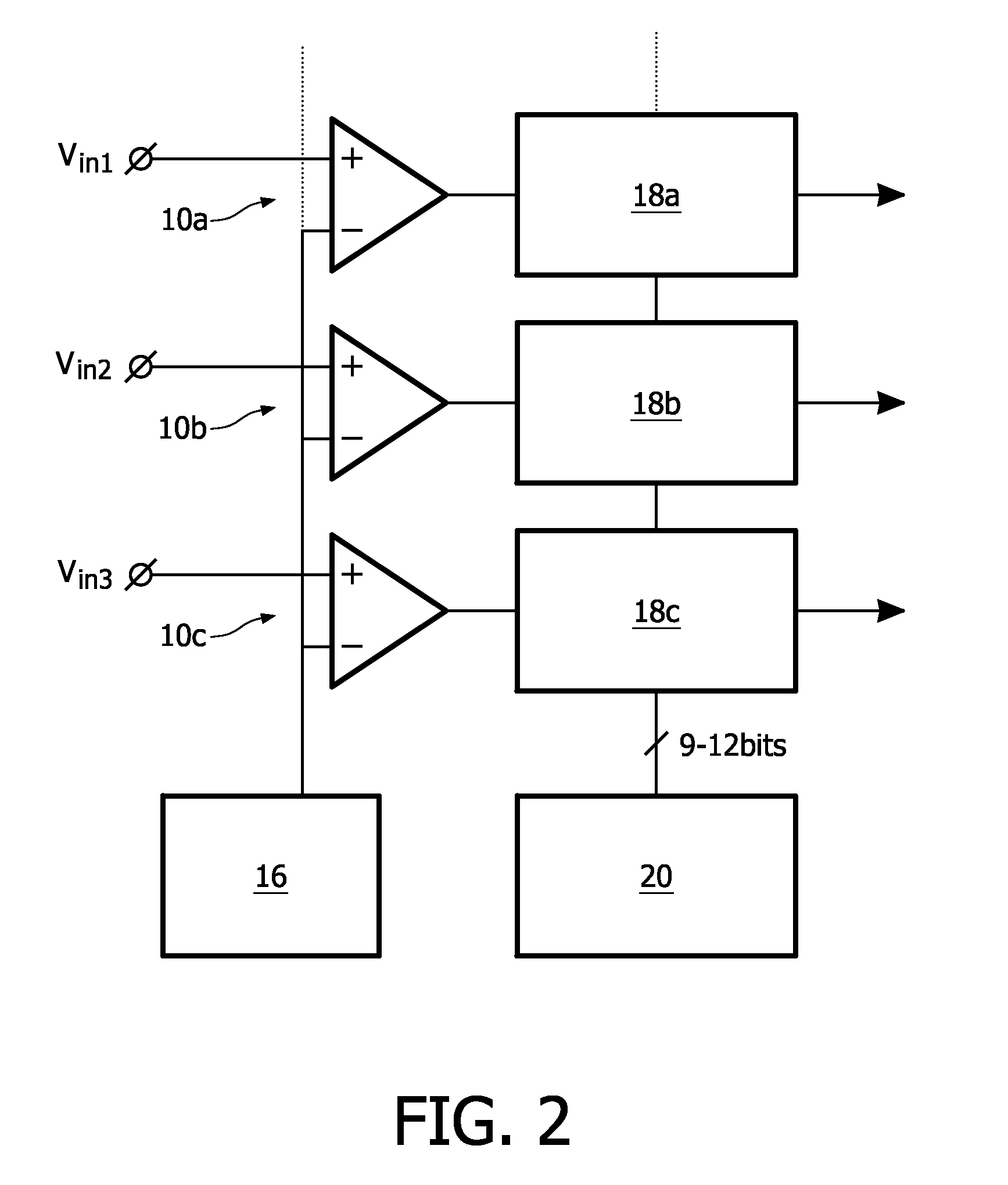 Us20090195431 Single Slope Analog To Digital Comparator Block Diagram Patent Drawing