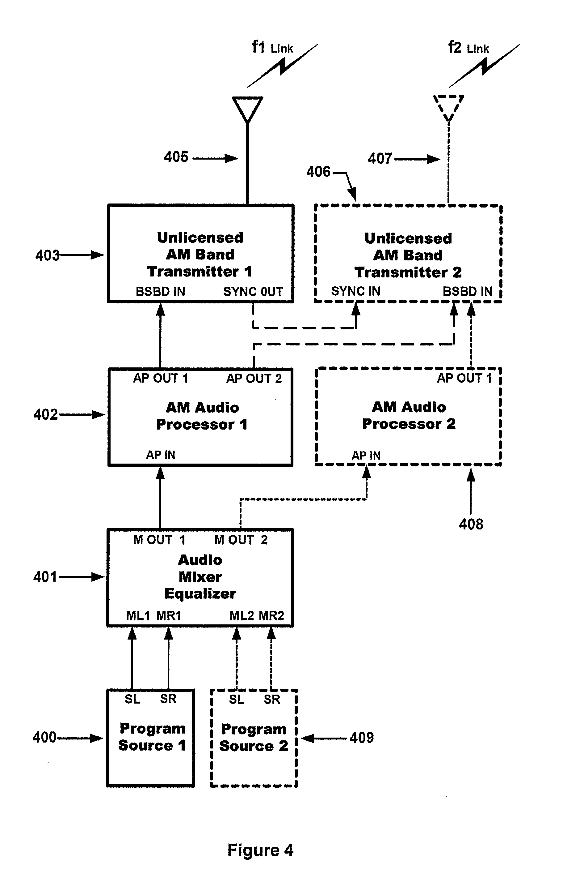 Patent Us20090197551 Billboard Receiver And Localized Broadcast 16channel Fm I2cbus 57 Ma Constant Current Led Driver Block Diagram Drawing
