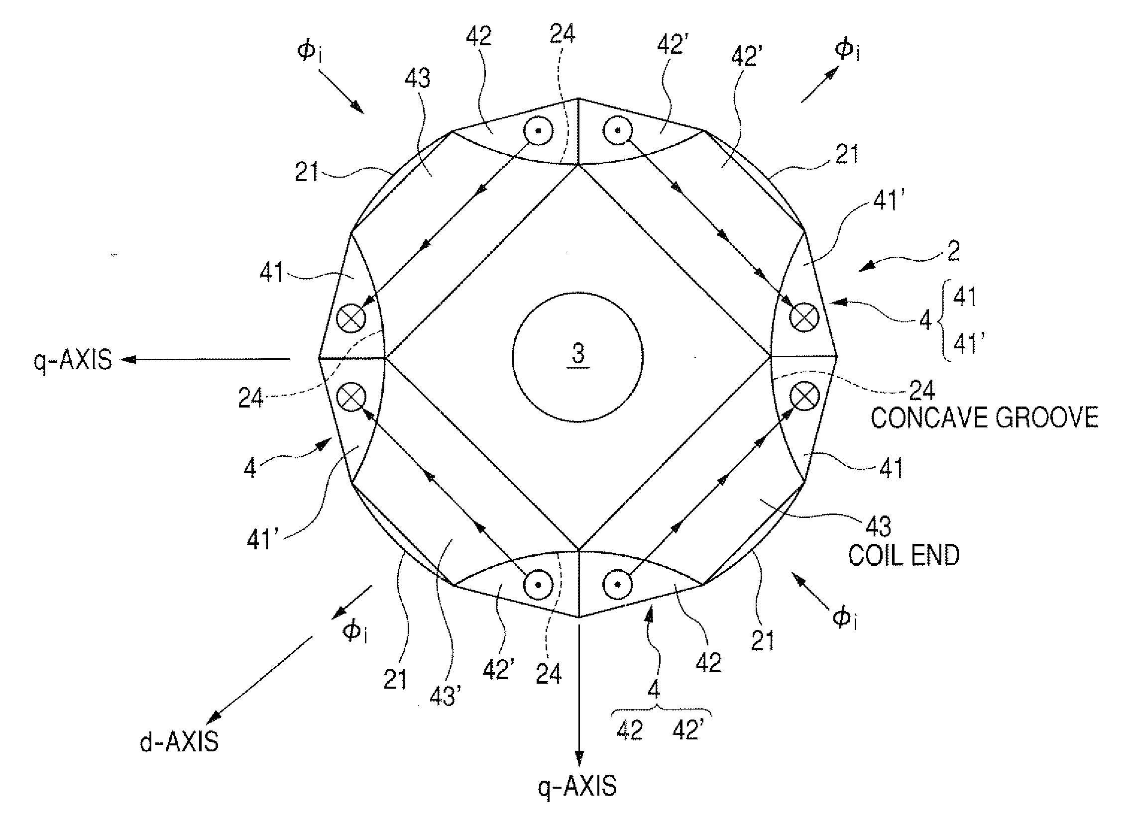 Patent Us20090200876 Synchronous Reluctance Motor