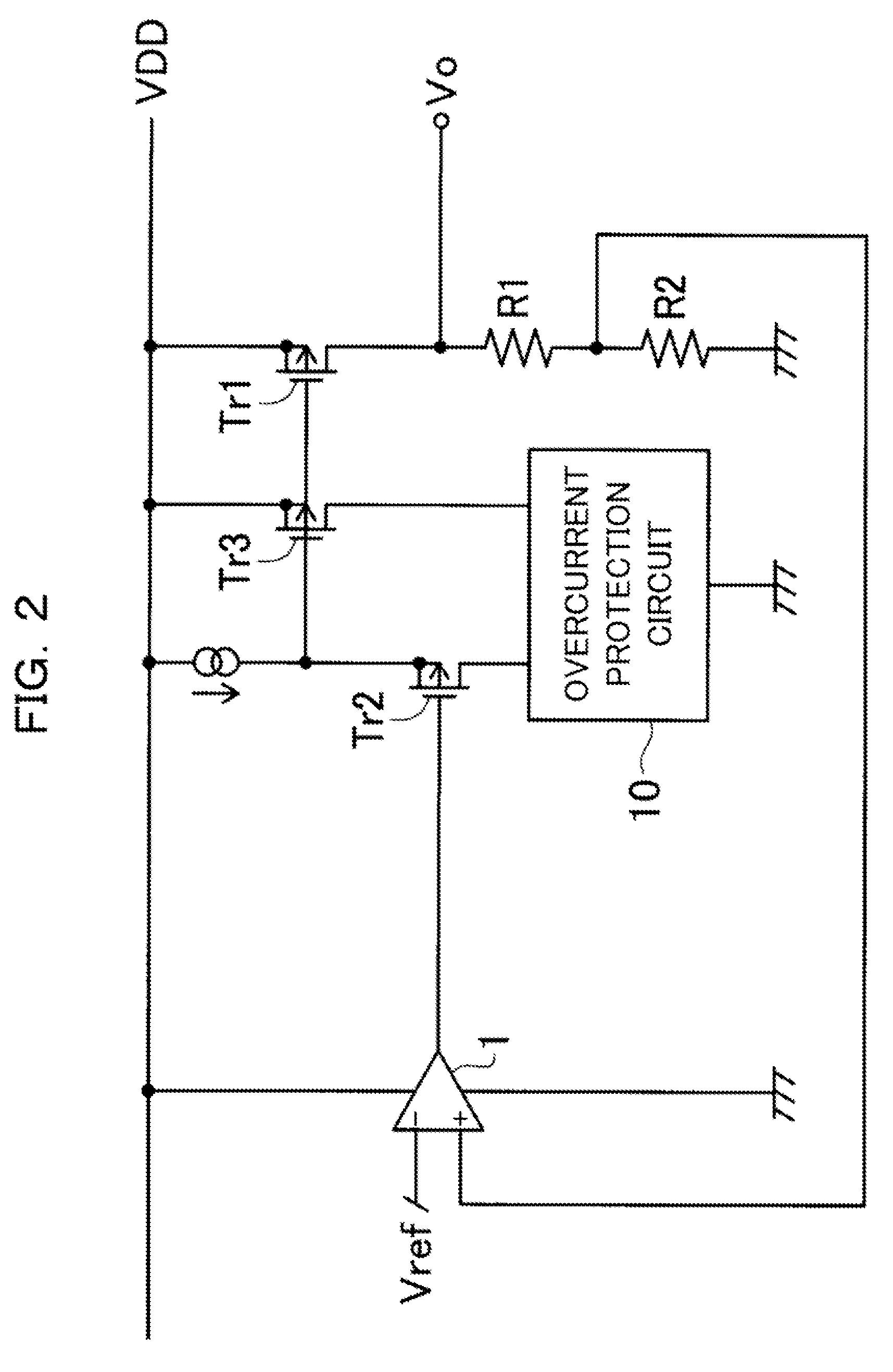 Brevet Us20090201618 Power Supply Circuit Overcurrent Protection Patent Drawing