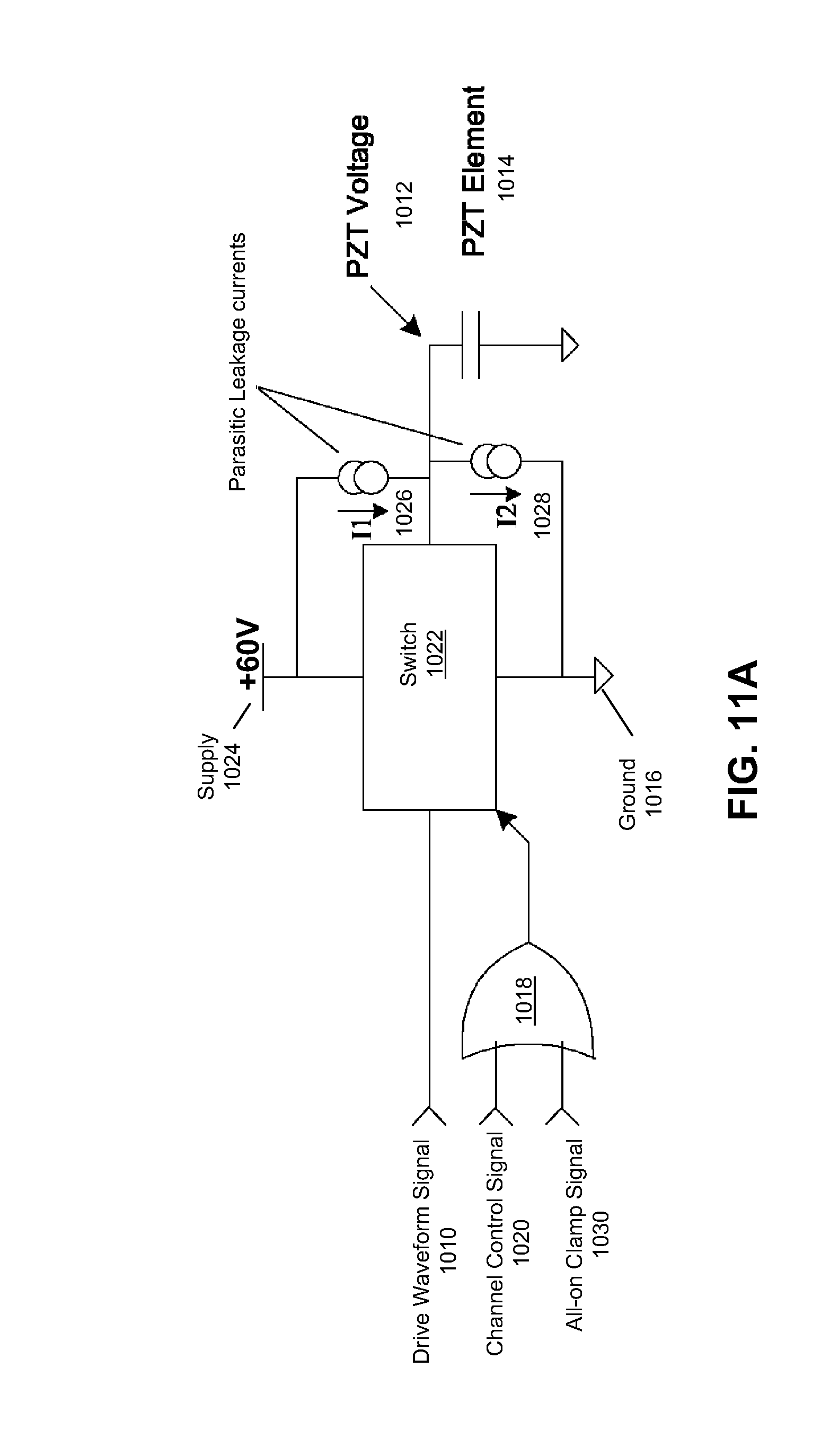 Patent Us20090231373 Charge Leakage Prevention For Inkjet Printing Piezo Driver Circuit Drawing