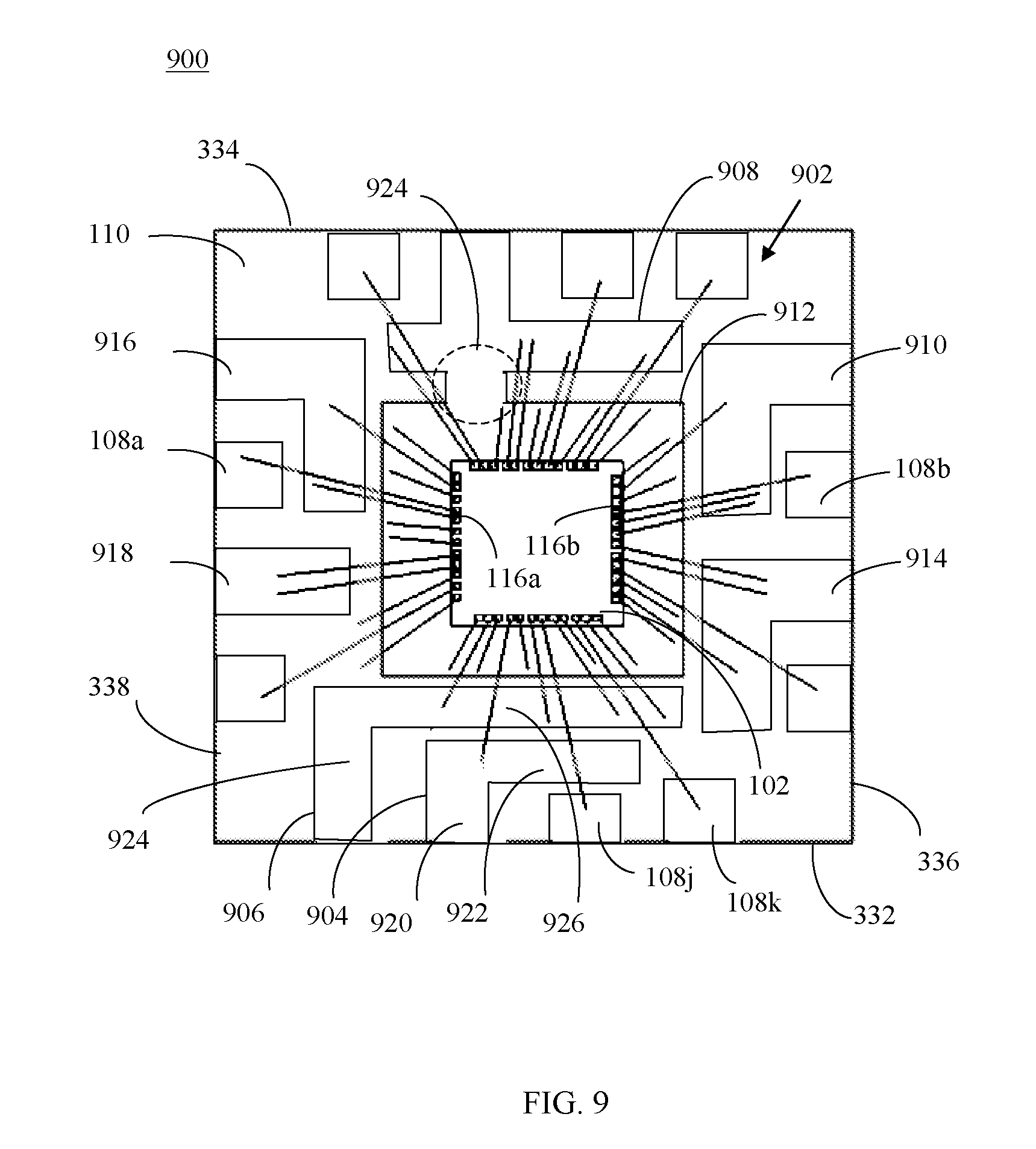 patent us20090243054  o connection scheme for qfn