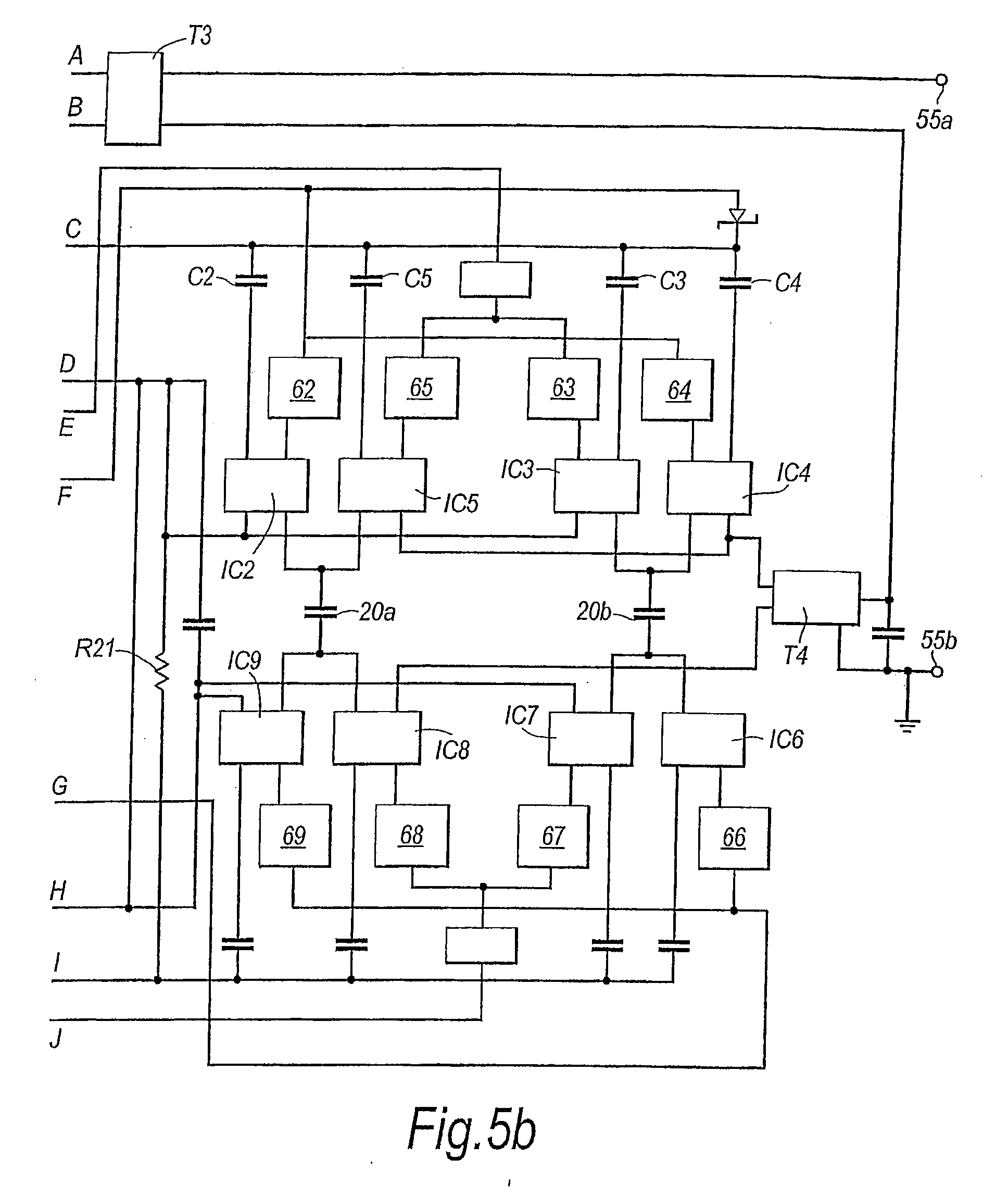 Patent Us20090243399 Electrical Power Supply Arrangement For A Current Transformerless Circuit Diagram Centre Drawing