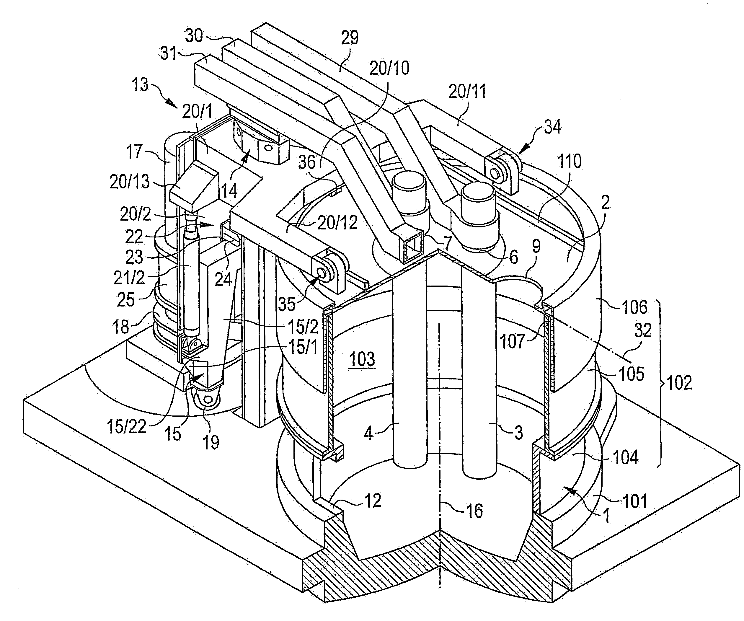 patent us20090274190 melting furnace in particular electric arc