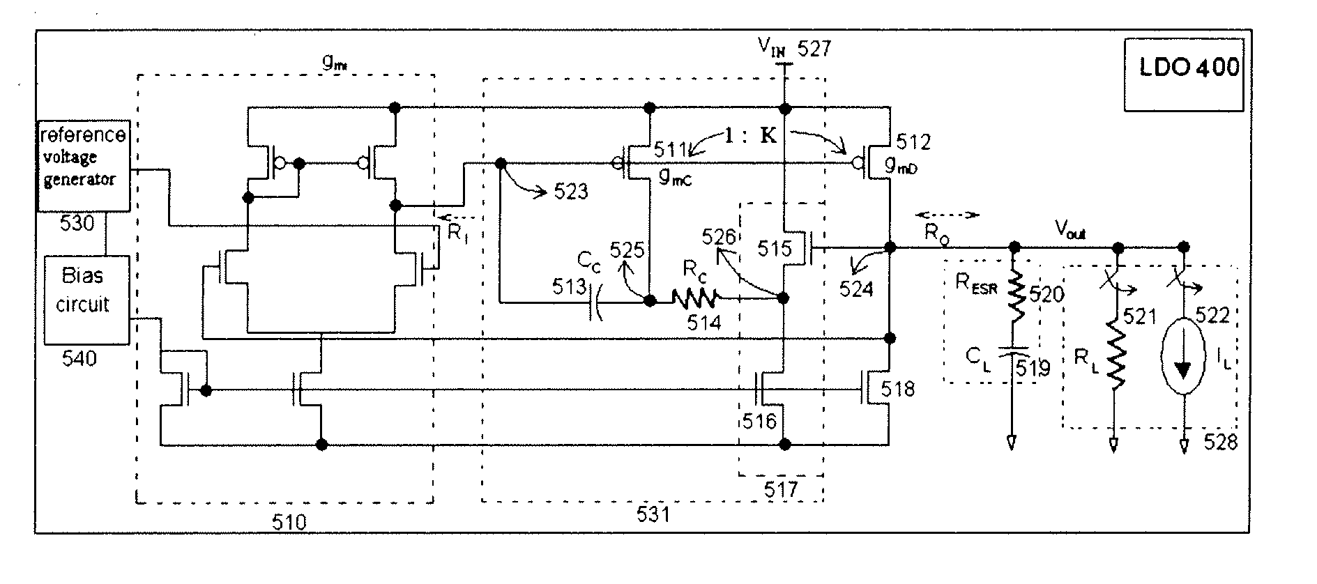 Patent Us20090289610 Low Dropout Regulator Google Patents Positive 512v Pulse Should Be Applied To This Input In Order Drawing