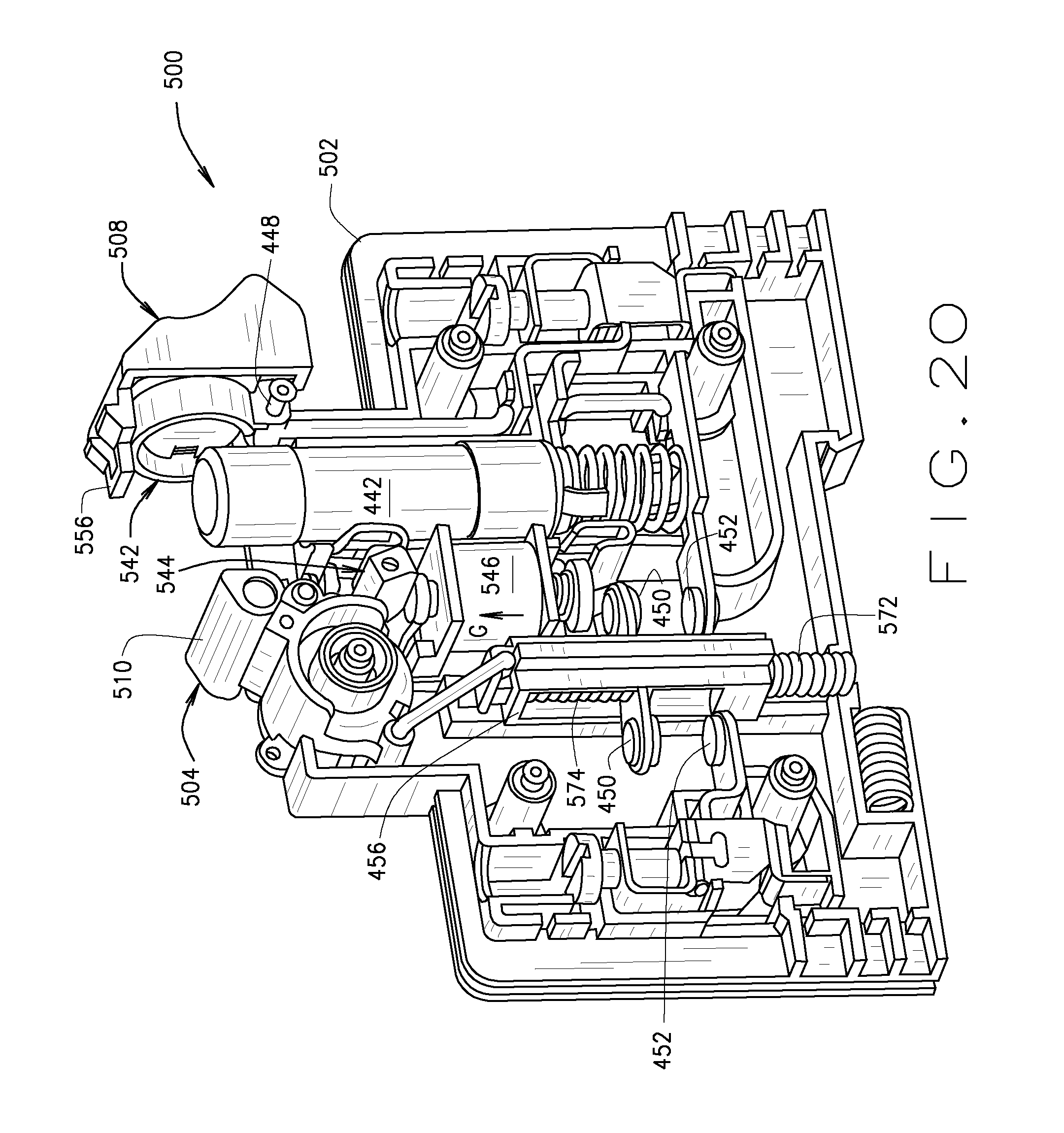 patent us20090295533 - fusible switching disconnect modules and devices