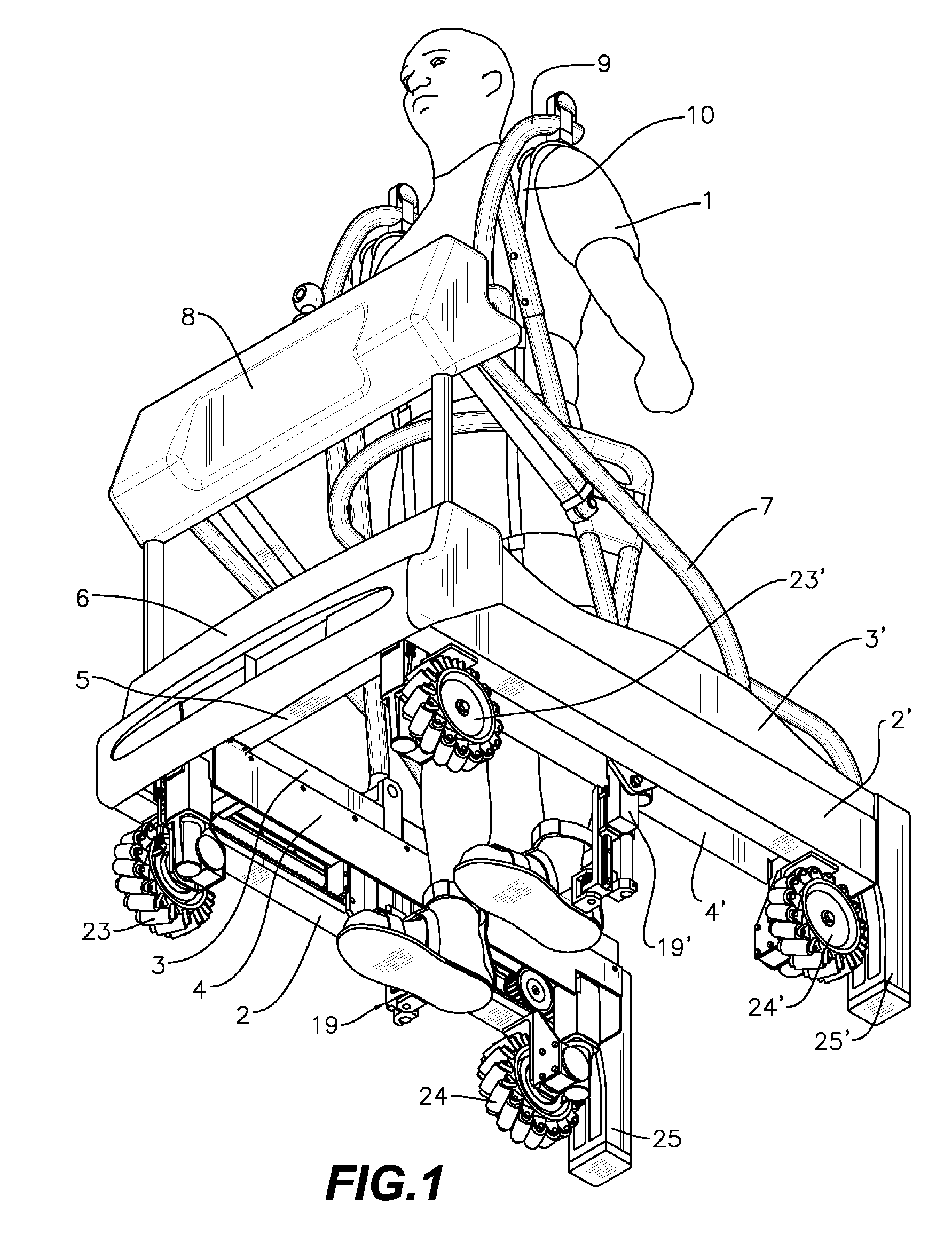 Patent Us20090298653 Powered Mobile Lifting Gait