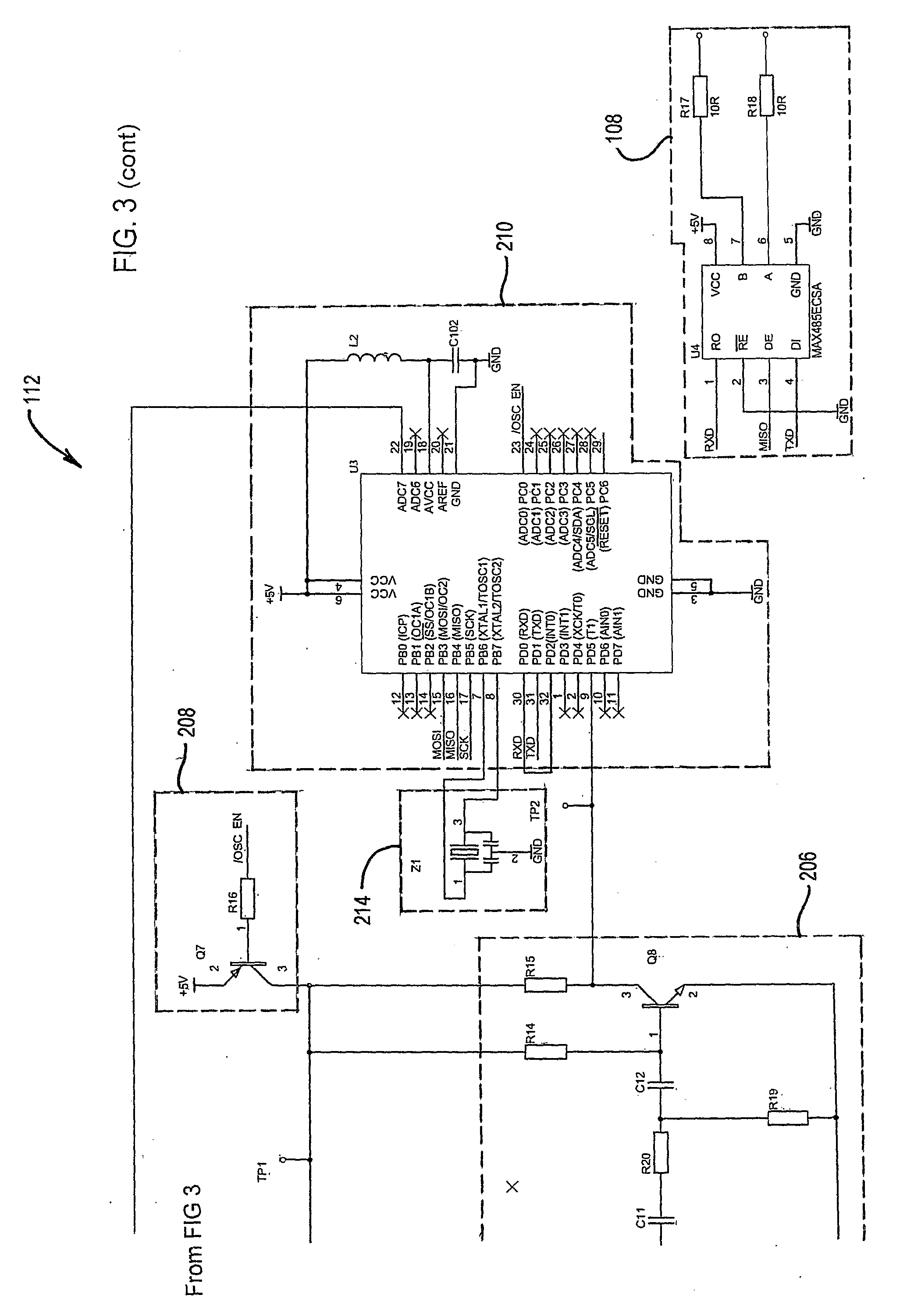 Us20090302870 Soil Moisture Sensor With Data Tester Circuit Schematic Patent Drawing