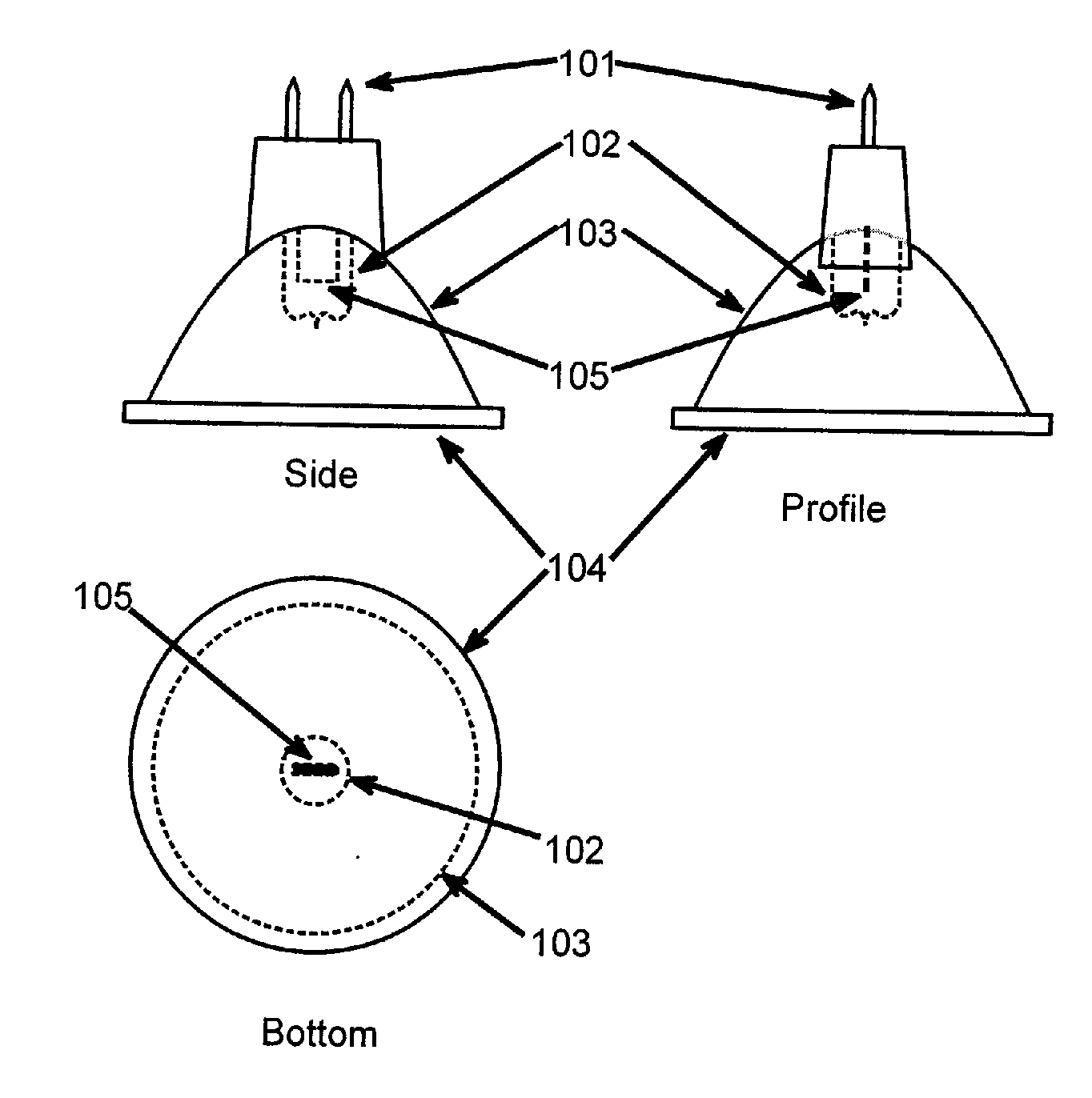 US6685339 together with US20110286200 furthermore Led Symbol in addition Light Emitting diode further US8672516. on led light emitting diode bulb lamp