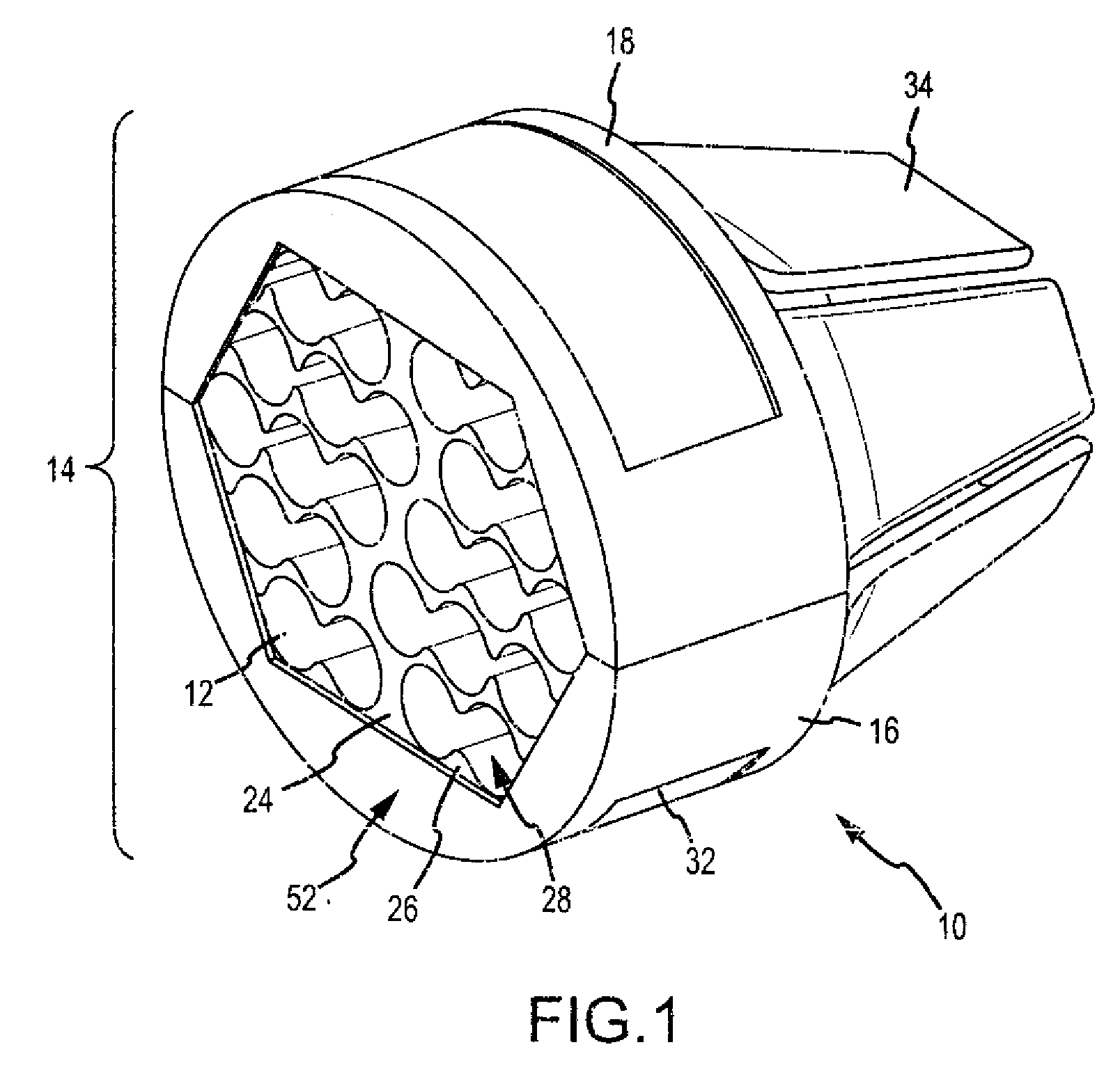 patent us20090314902 network cable bundling tool patents Woven- Wire Sheathing patent drawing