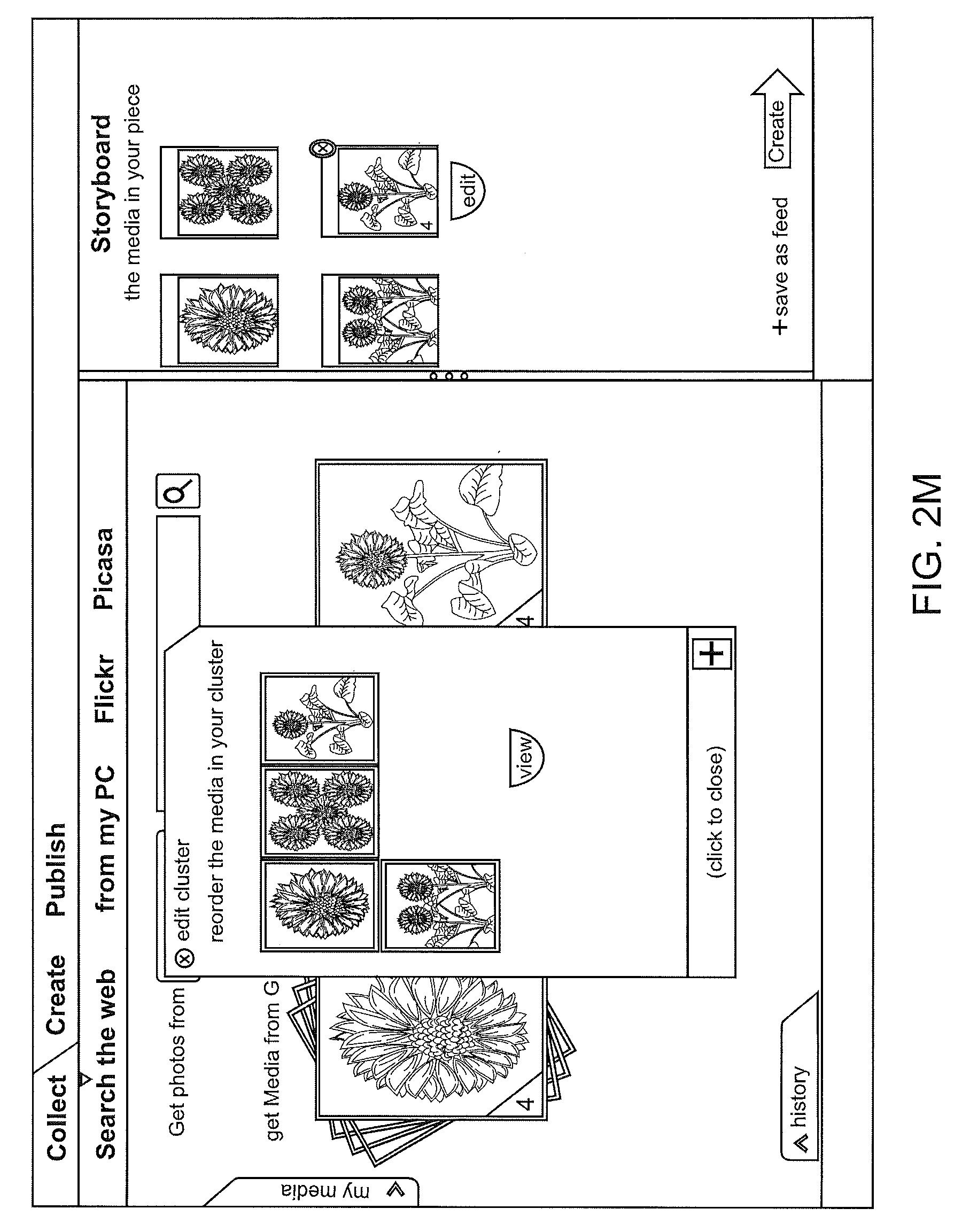 Brevet Us20100005119 System And Methods For The Cluster Of Media Overlay Circuit Board Plain White Background Flickr Photo Patent Drawing