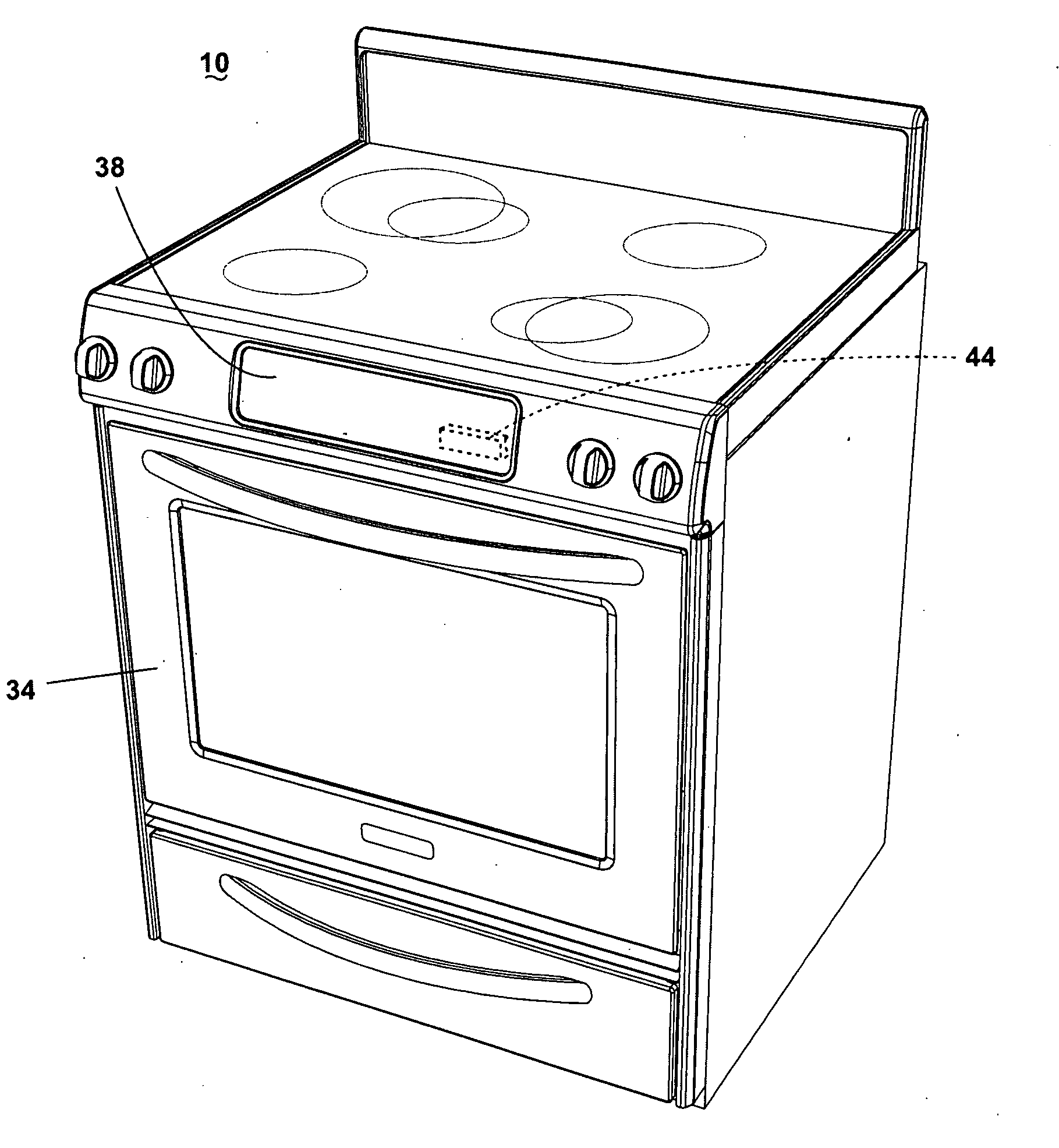 patent us20100006085 - convection oven