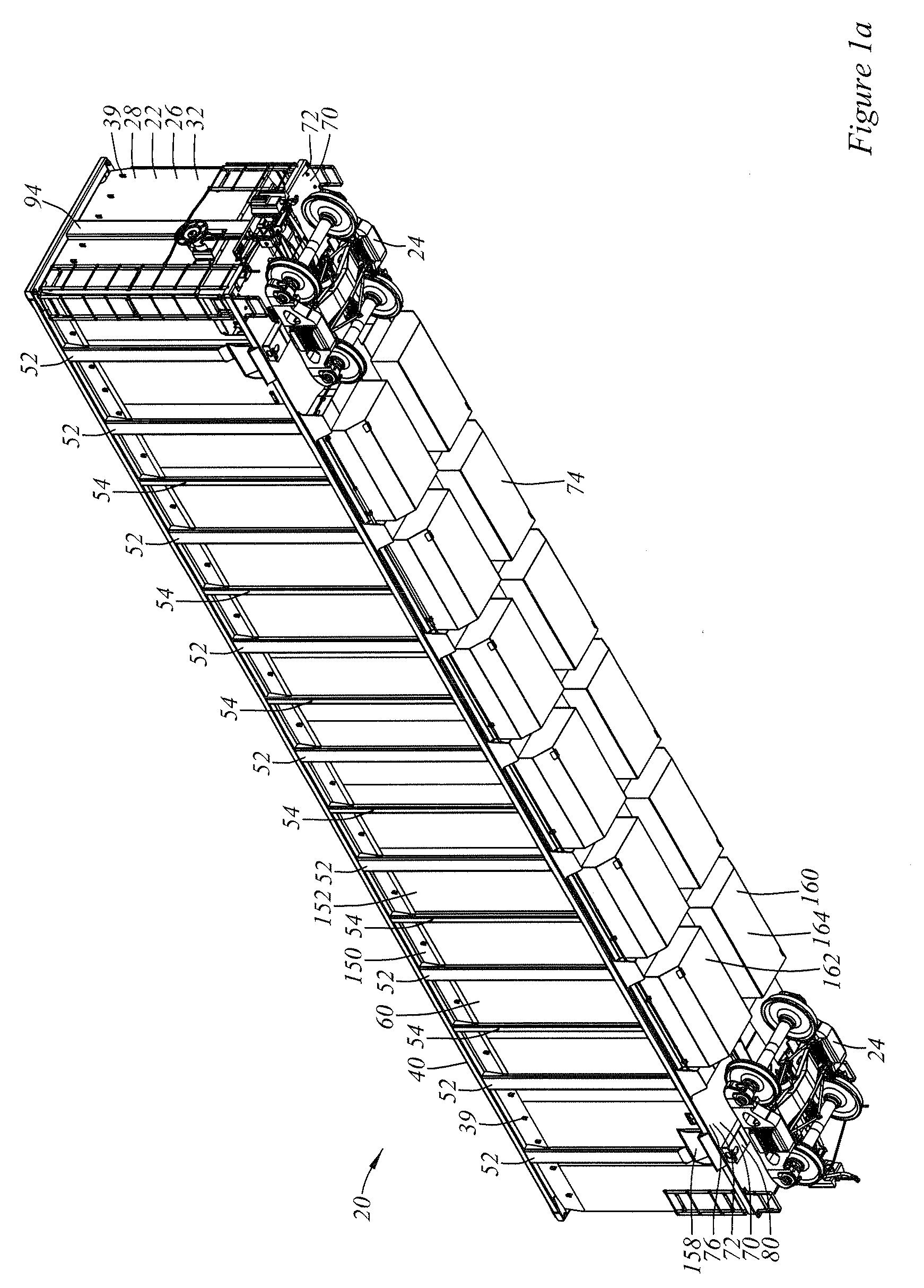 diagram of gondola patent us20100011987 - railroad gondola car structure ... firing order of 96 toyota camry 2 2 diagram of spark plug wires installation on 96 camry 2 2