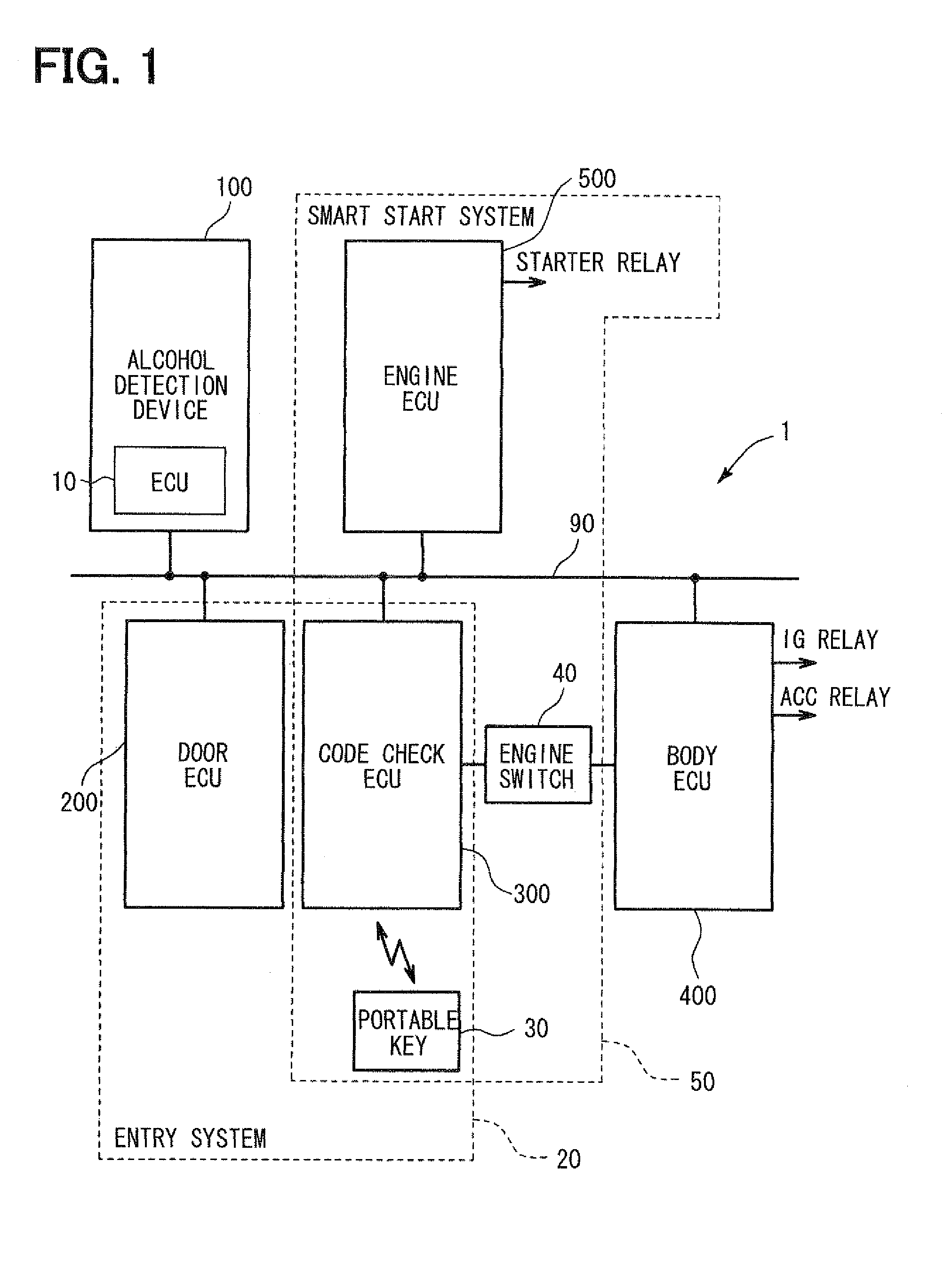 Patent US Alcohol detection system and method