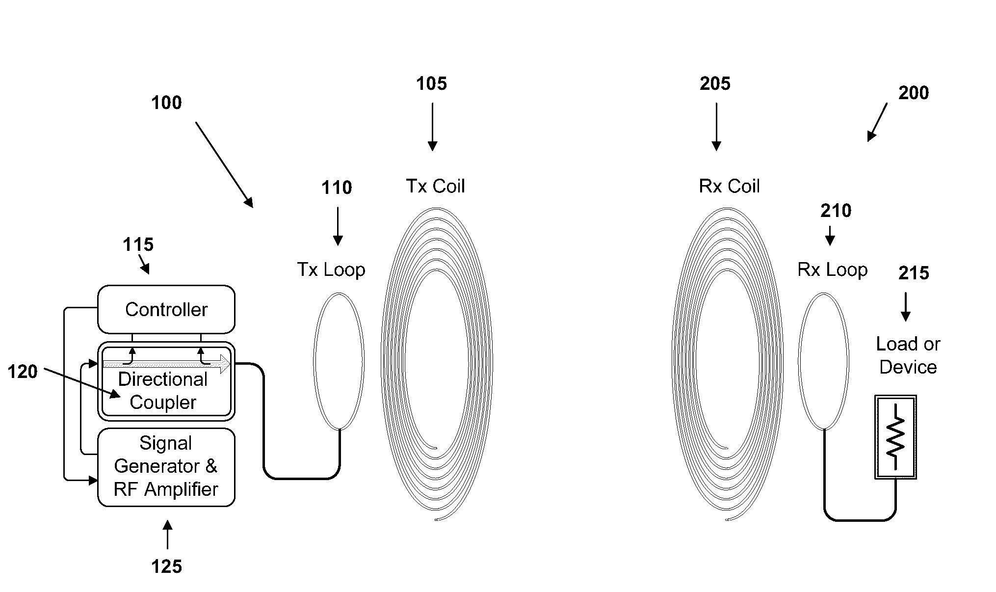 Wireless Power Transmitter And Receiver Circuit Diagram Intercom Patent Us20100045114 Adaptive Transfer Apparatus