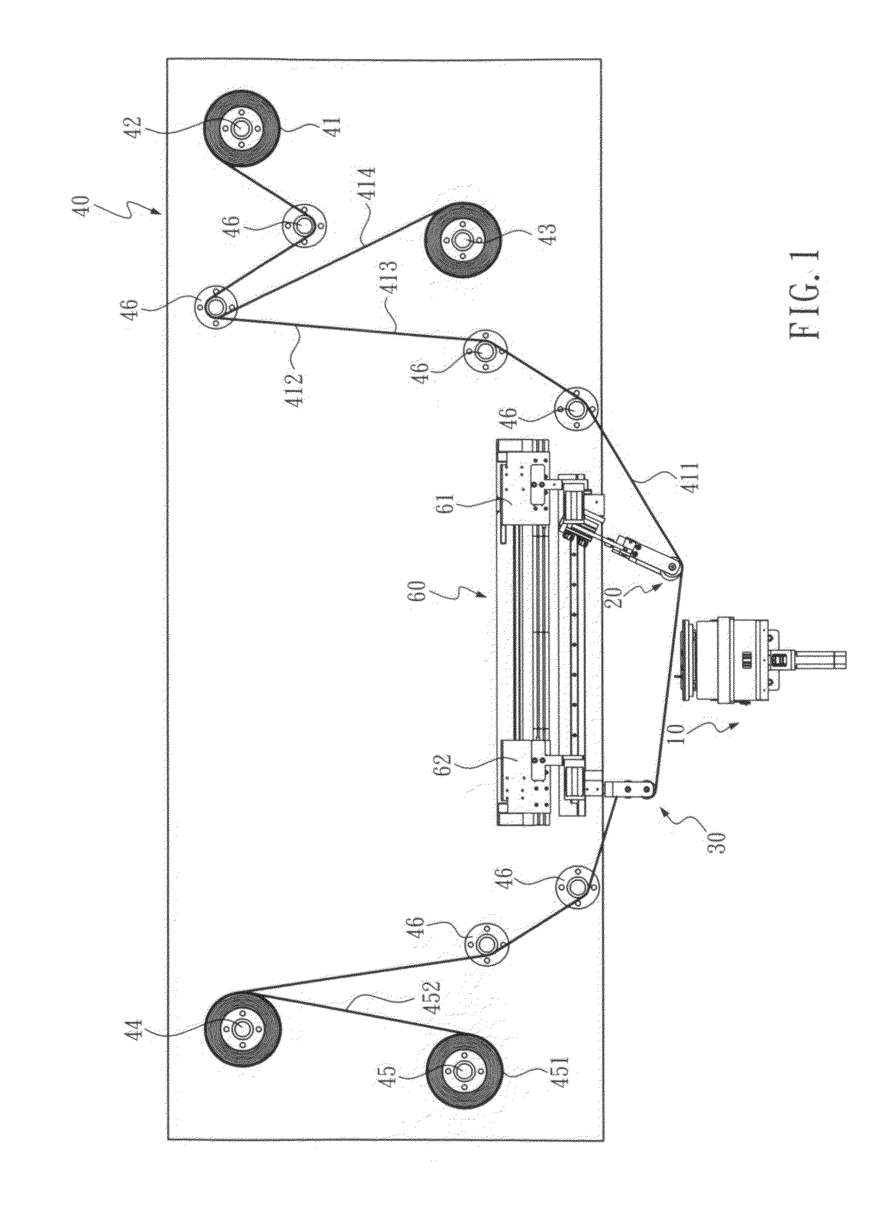 Patent US20100059183 - Wafer taping and detaping machine