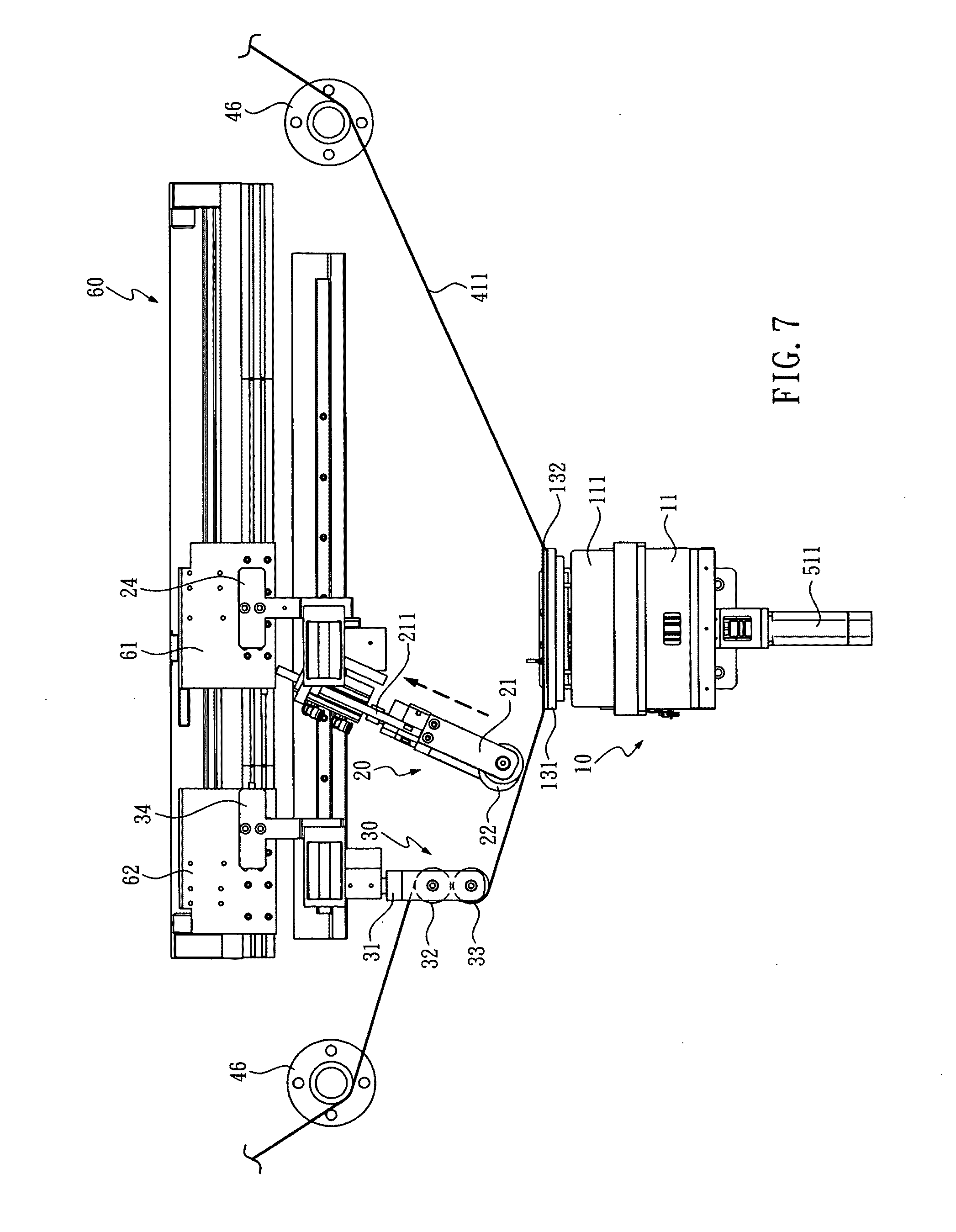 Patent US20100059183 - Wafer taping and detaping machine