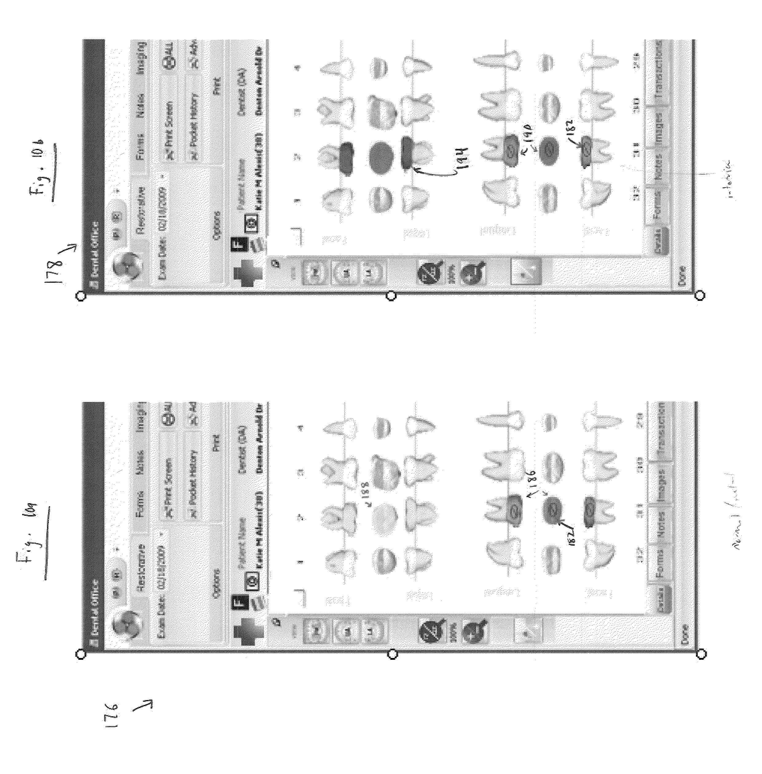 Lovely periodontal chart template contemporary entry level patent us20100121658 dental charting system google patents biocorpaavc Gallery