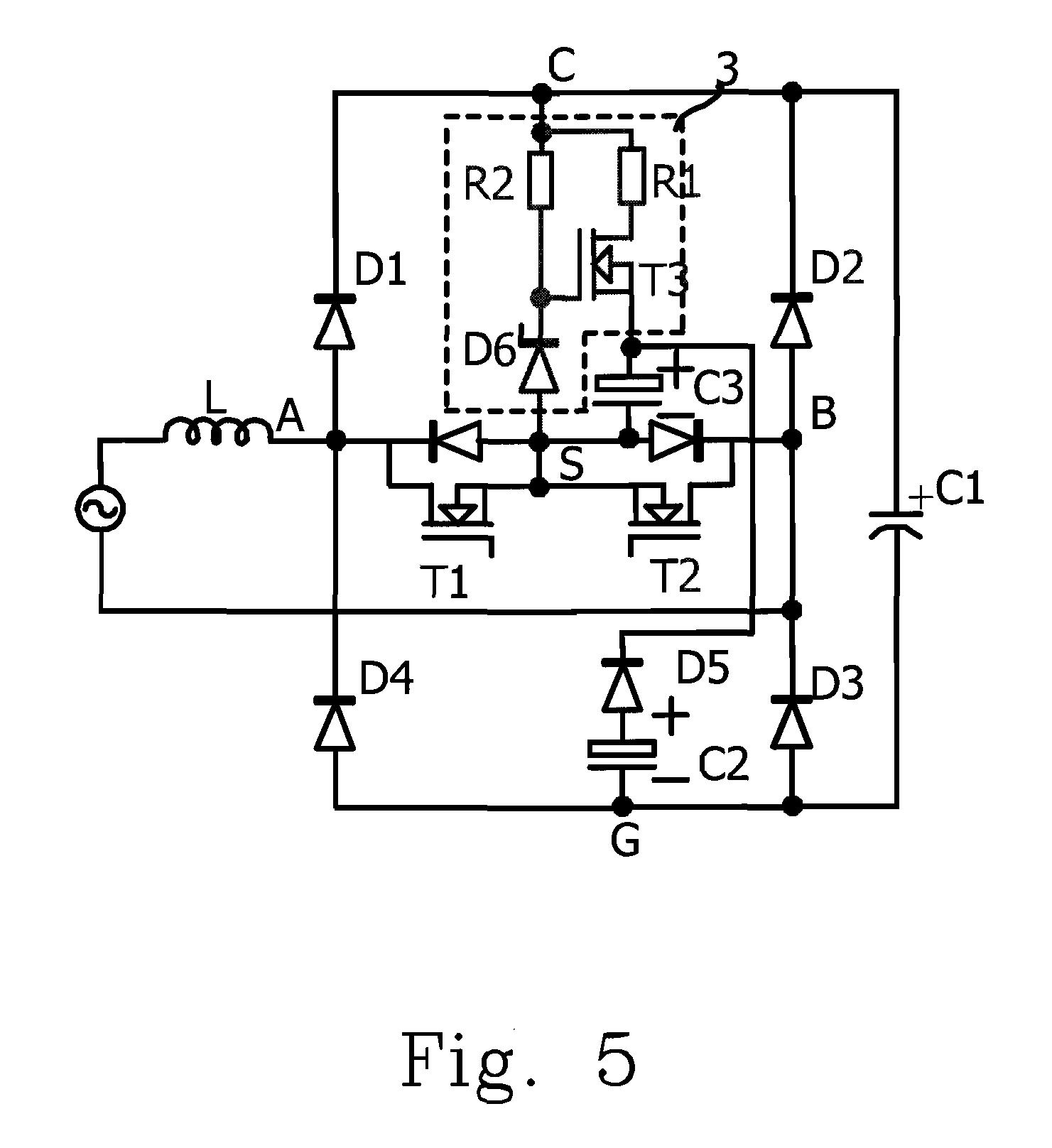 Patent Us20100124085 H Bridge Circuit Having Energy