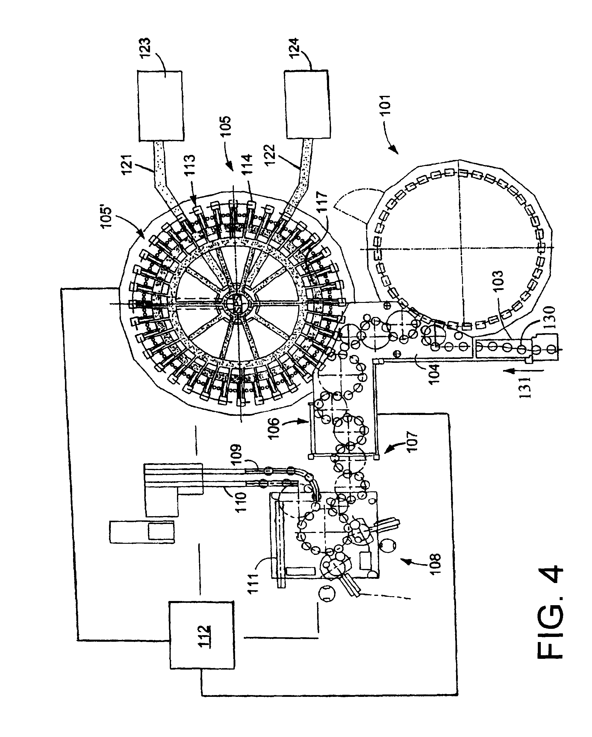 Patent us20100136159 accelerator feed arrangement configured to patent drawing ccuart Choice Image
