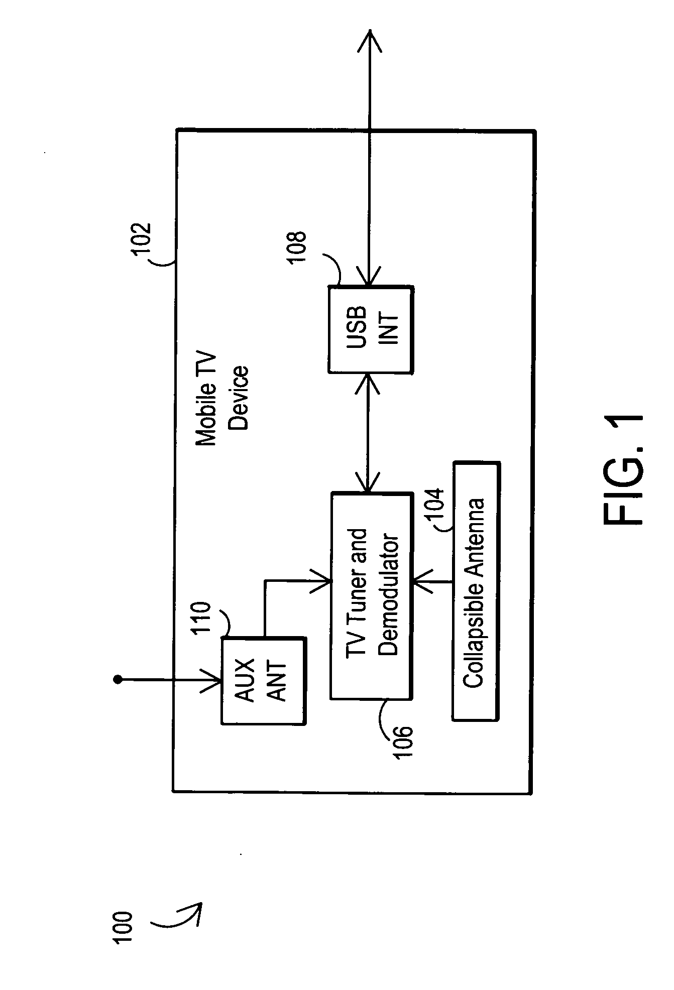 Patent US20100141847 - Mobile television device with break-resistant ...