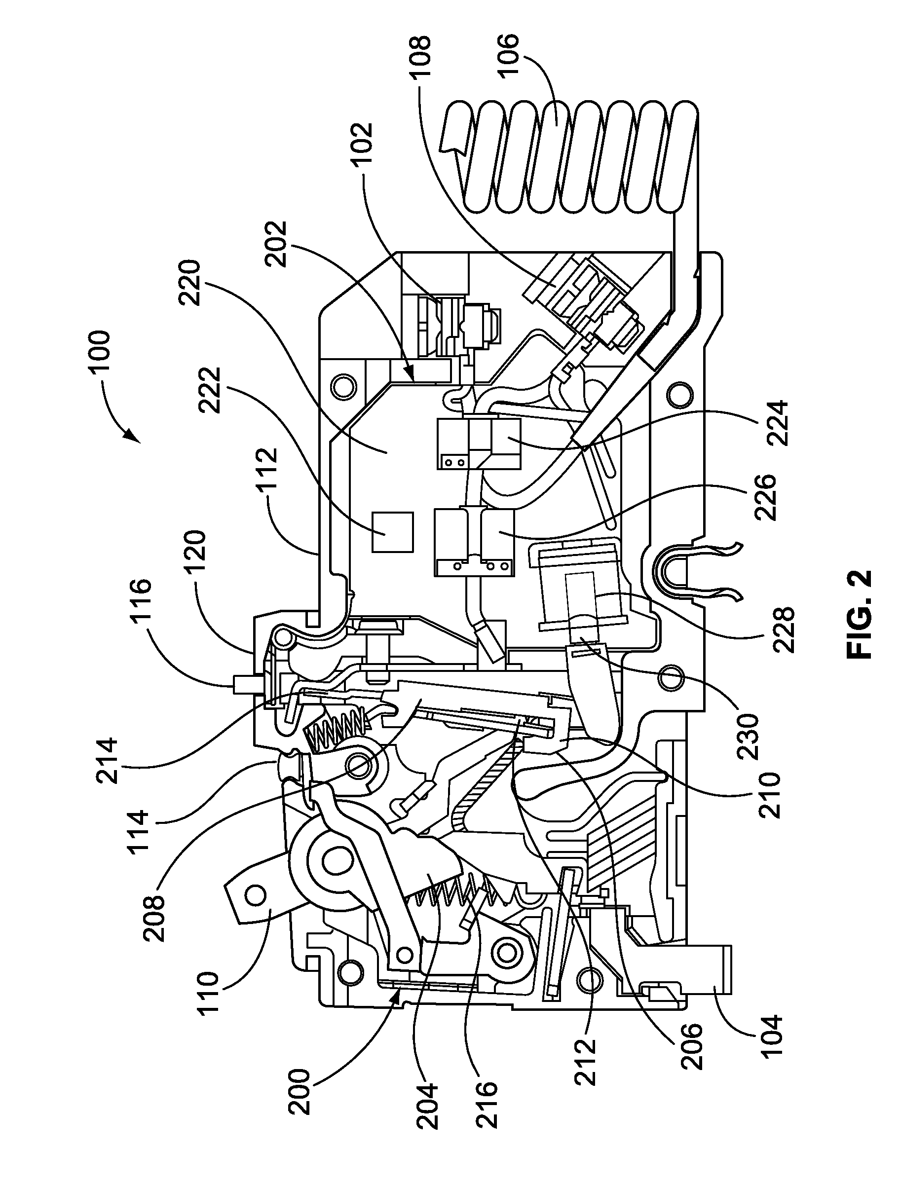 patent us20100149711 - circuit breaker with bistable display