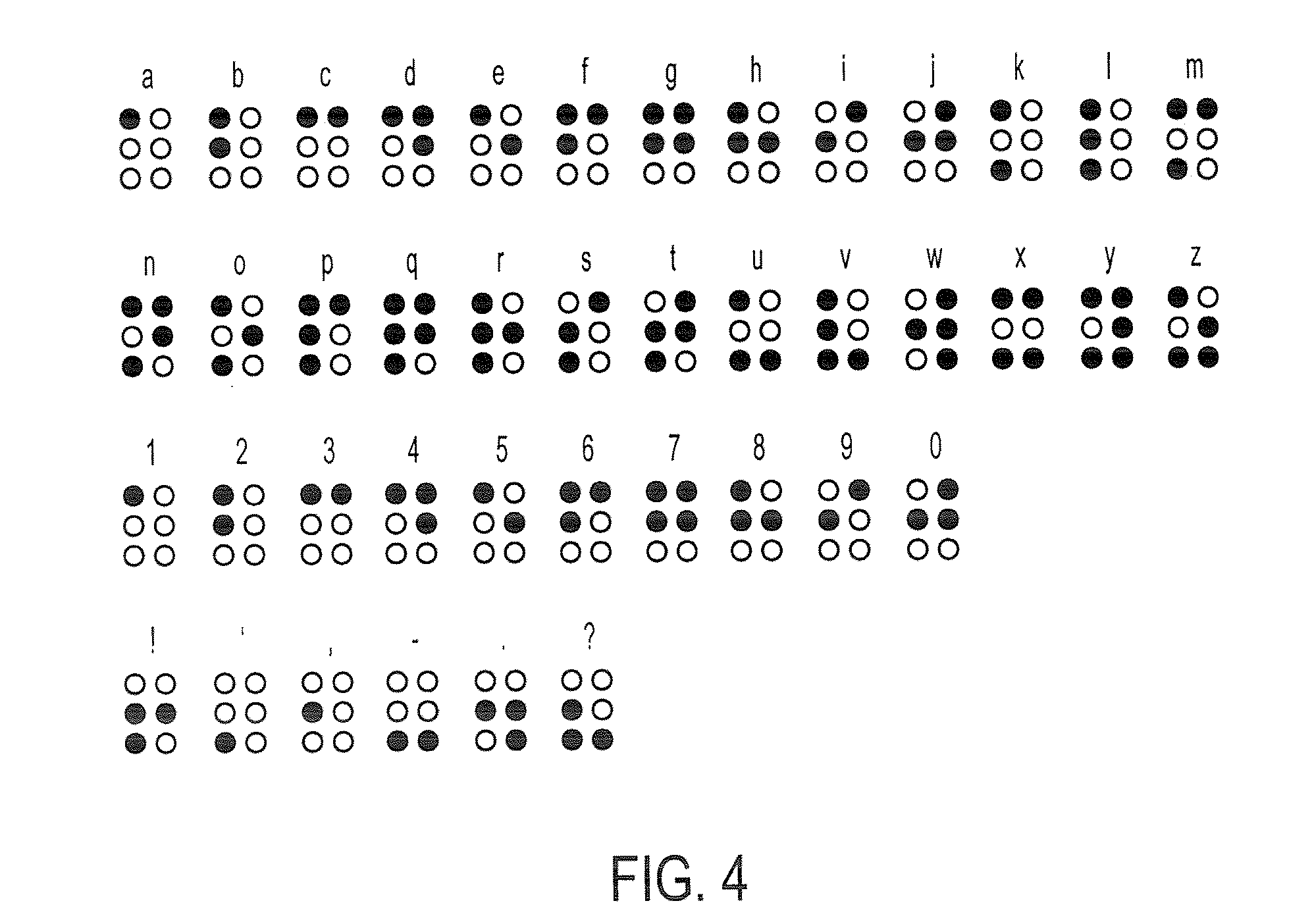 Patent US20100182242 - Method and apparatus for braille ...