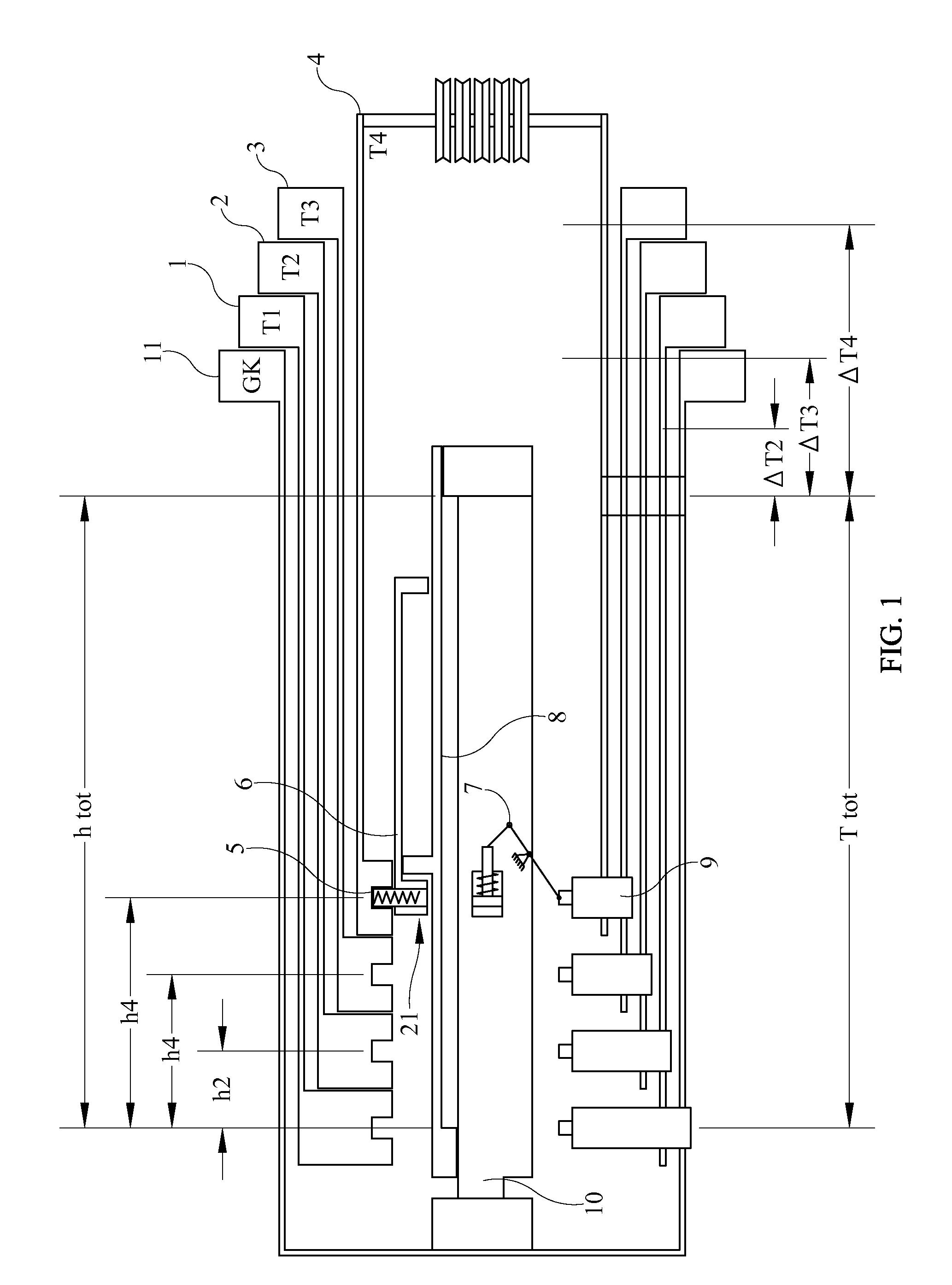 Telescopic Crane Components : Patent us  locking system for telescopic crane